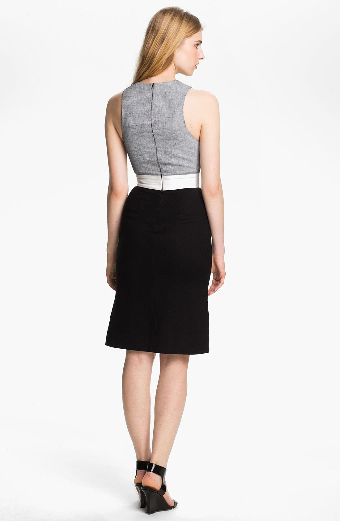 Alternate Image 2  - L'AGENCE Pleated Bodice Dress