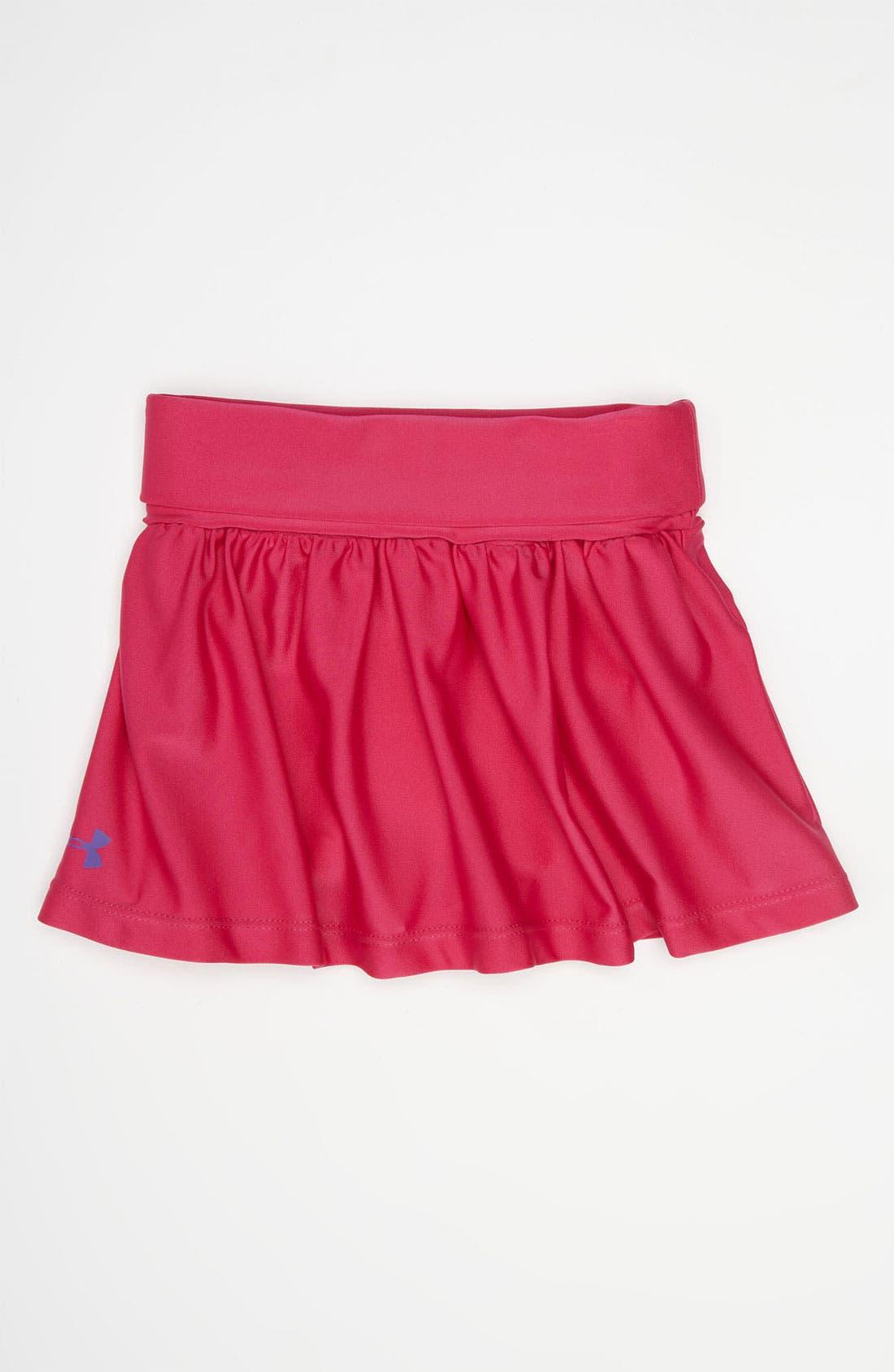 Alternate Image 1 Selected - Under Armour Tennis Skirt (Toddler)
