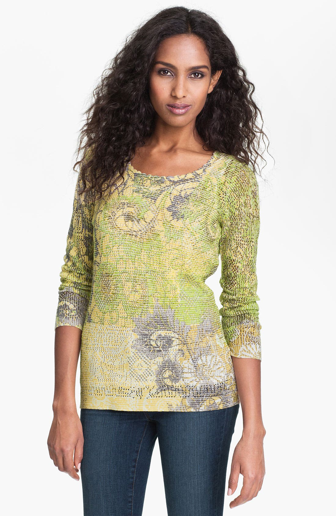 Main Image - Nic + Zoe 'Field of Lace' Top