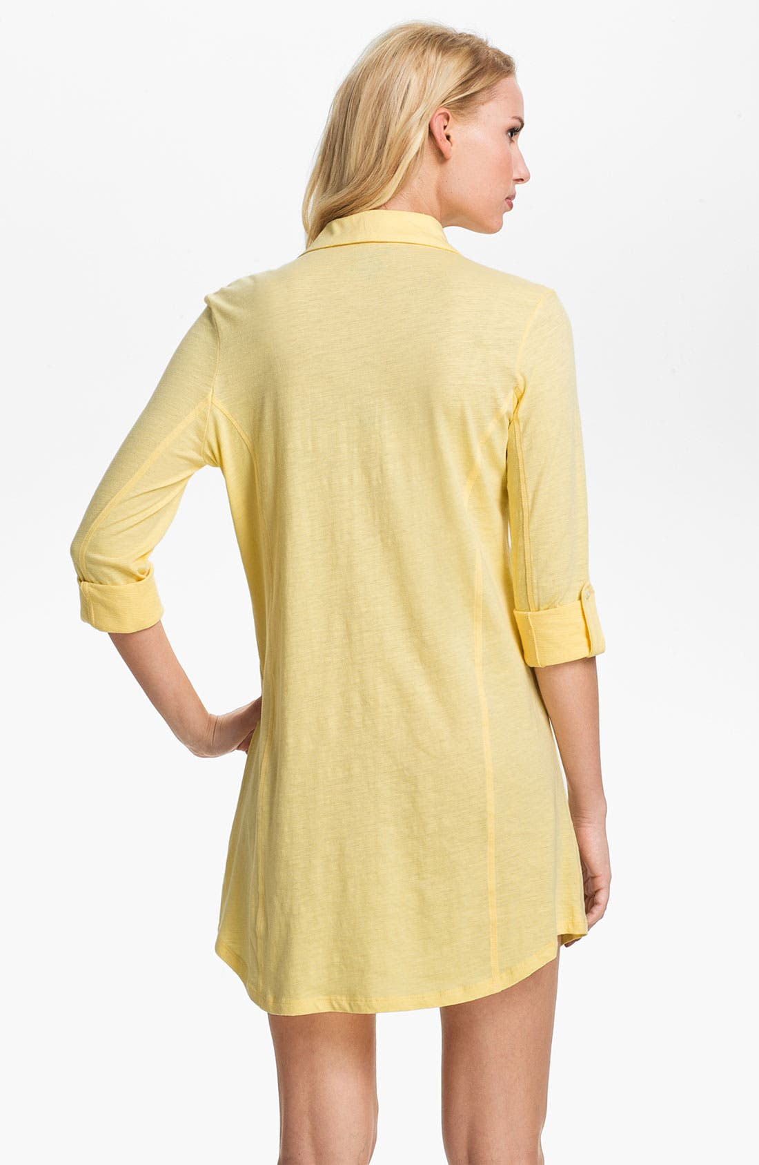 Alternate Image 2  - Lauren Ralph Lauren Knit Nightshirt