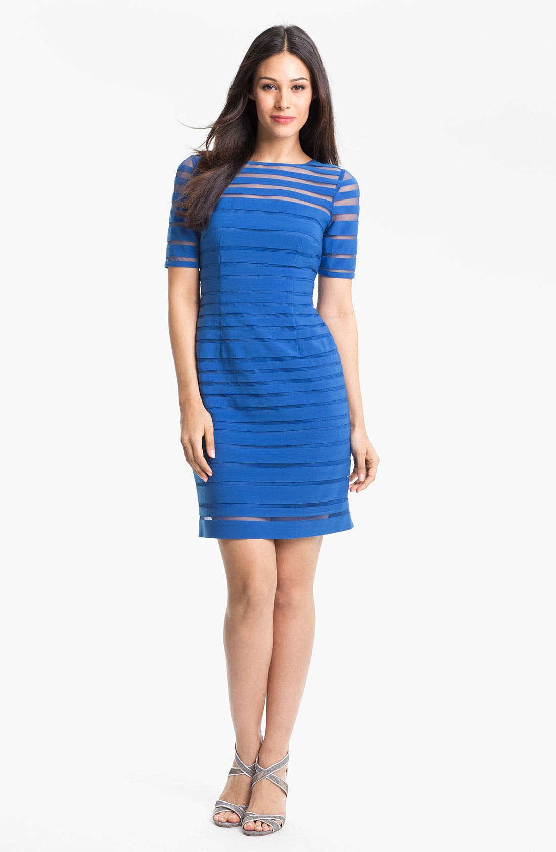 Alternate Image 1 Selected - Adrianna Papell Banded Sheath Dress