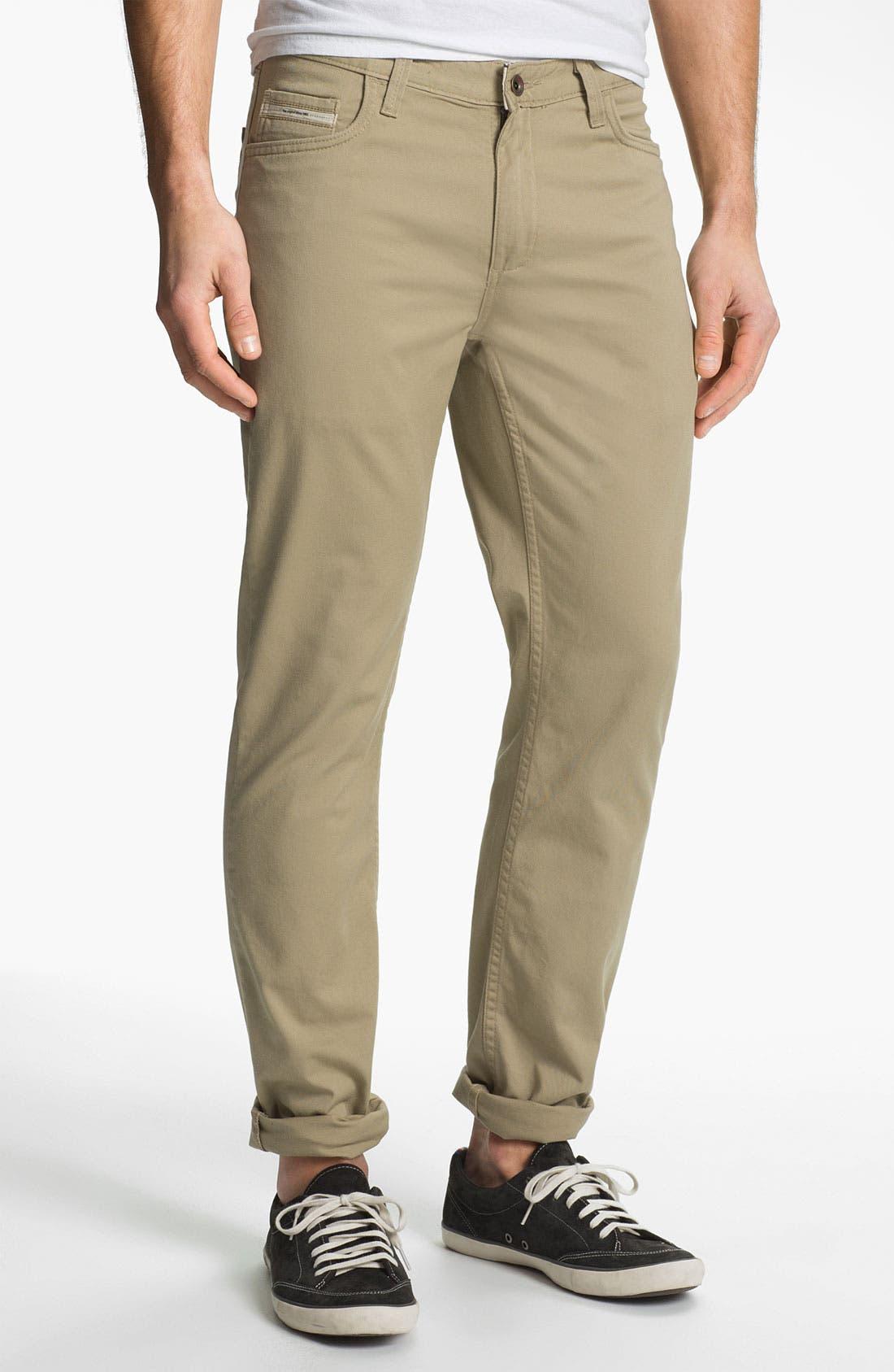 Alternate Image 2  - Vans 'Covina' Slim Straight Leg Twill Pants