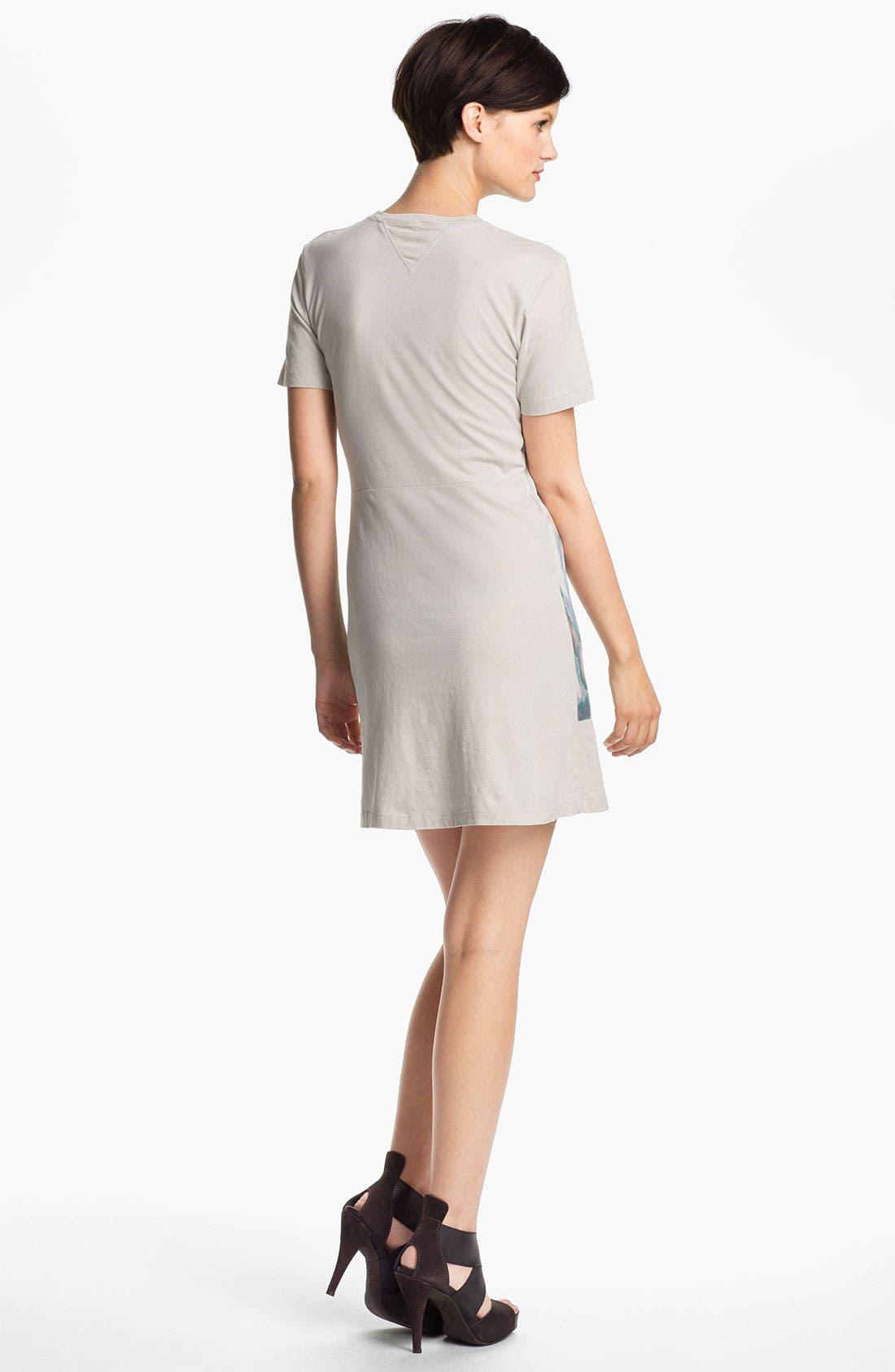 Alternate Image 2  - Theyskens' Theory 'Cherry Isobek' Jersey T-Shirt Dress