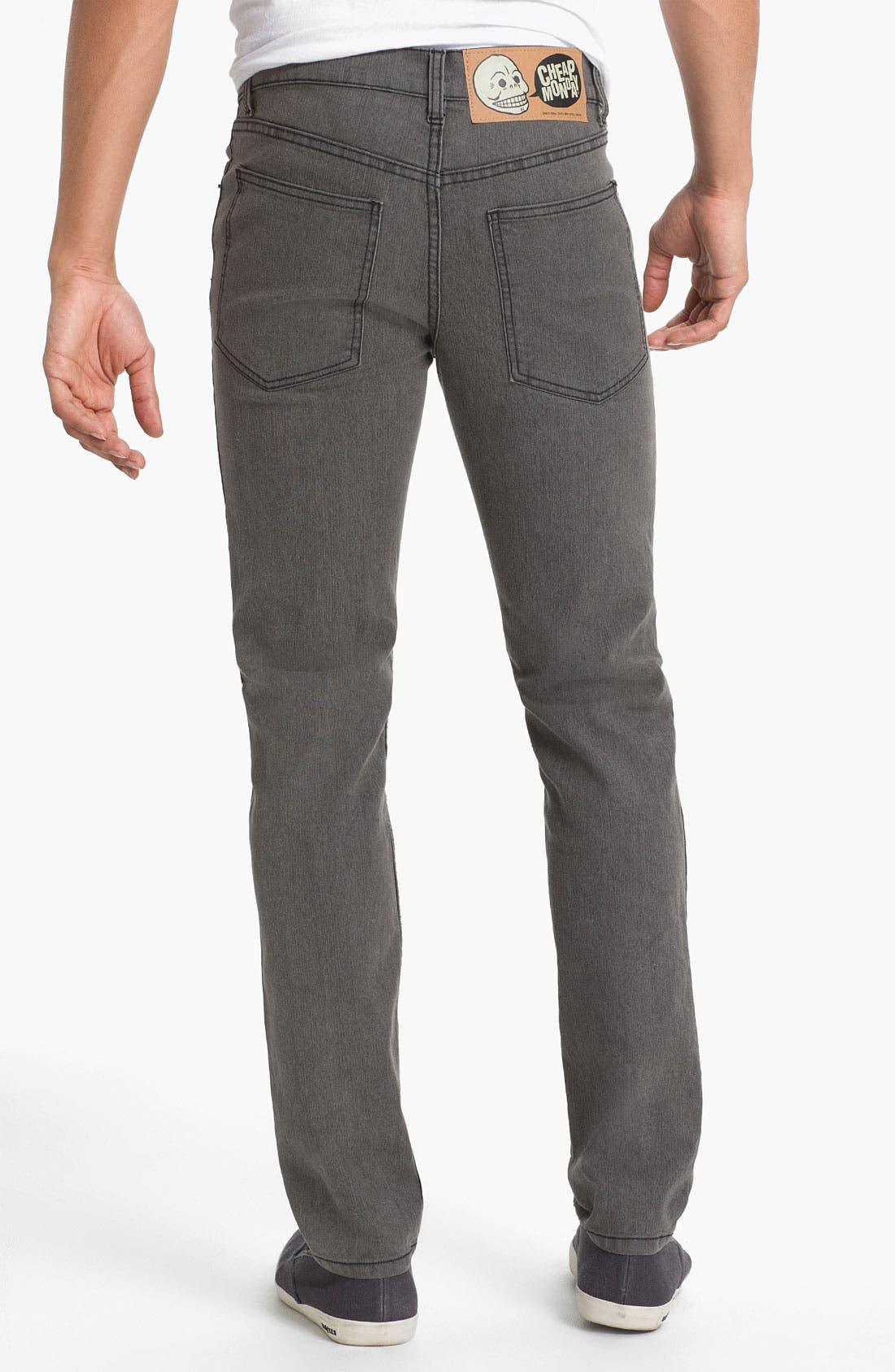 Alternate Image 1 Selected - Cheap Monday Tight Skinny Leg Jeans (45-Minute Stonewash)