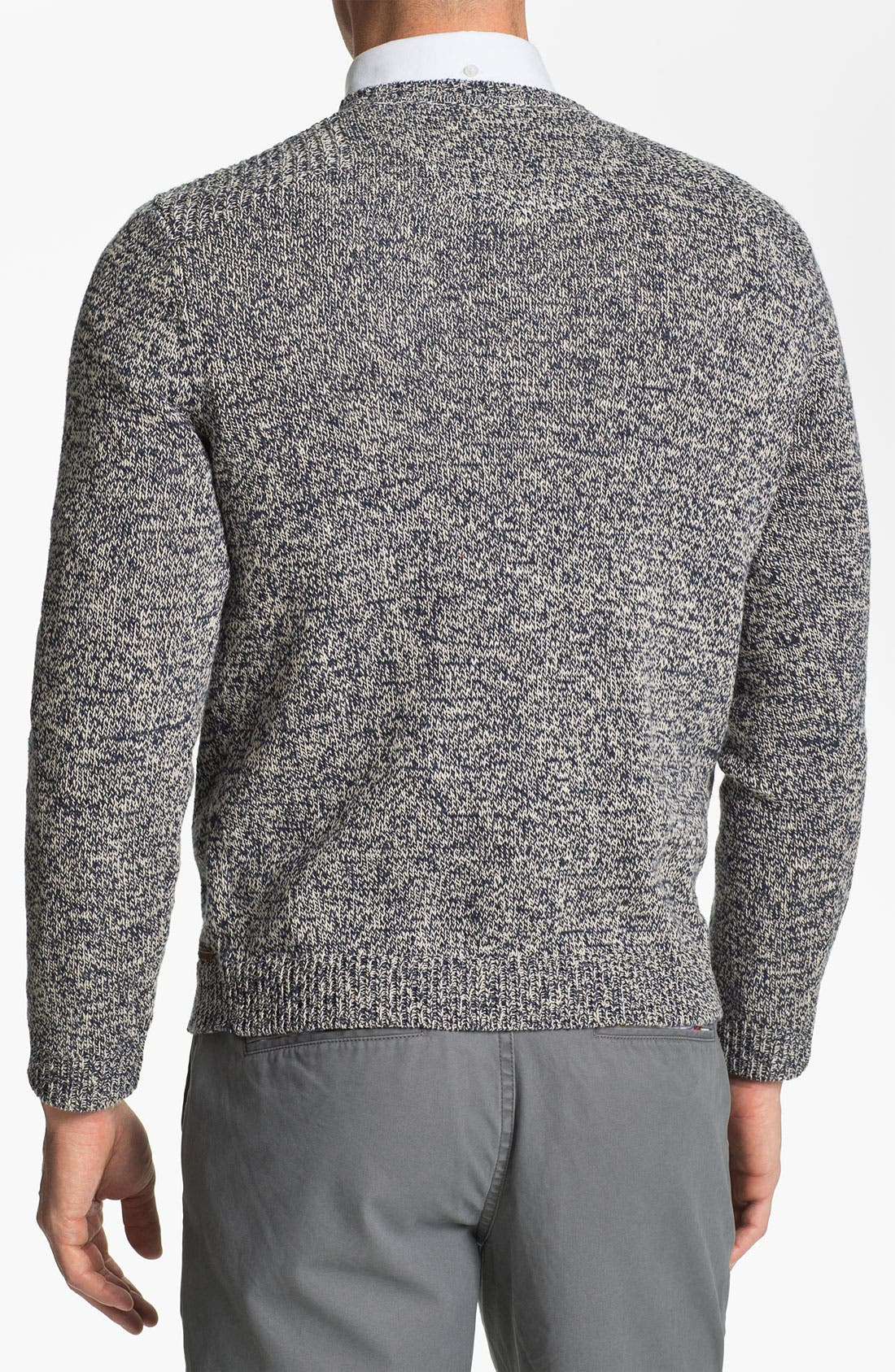 Alternate Image 2  - Ted Baker London 'Keyston' Cotton & Linen Crewneck Sweater