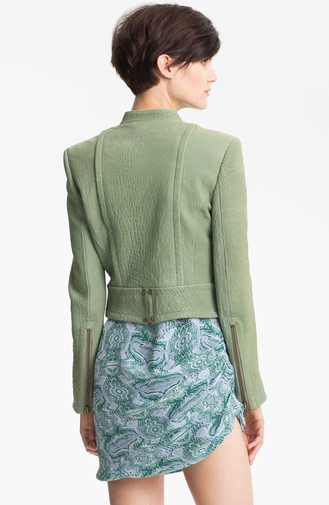 Alternate Image 3  - Kelly Wearstler 'Jasper' Lambskin Leather Jacket