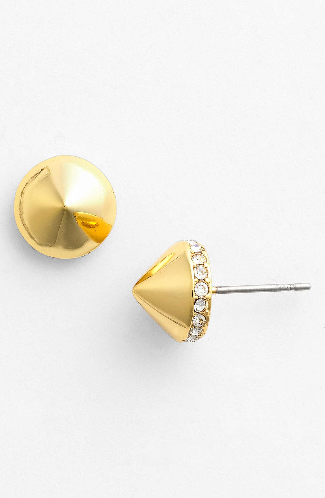 Alternate Image 1 Selected - Vince Camuto 'Lucia' Pavé Cone Stud Earrings