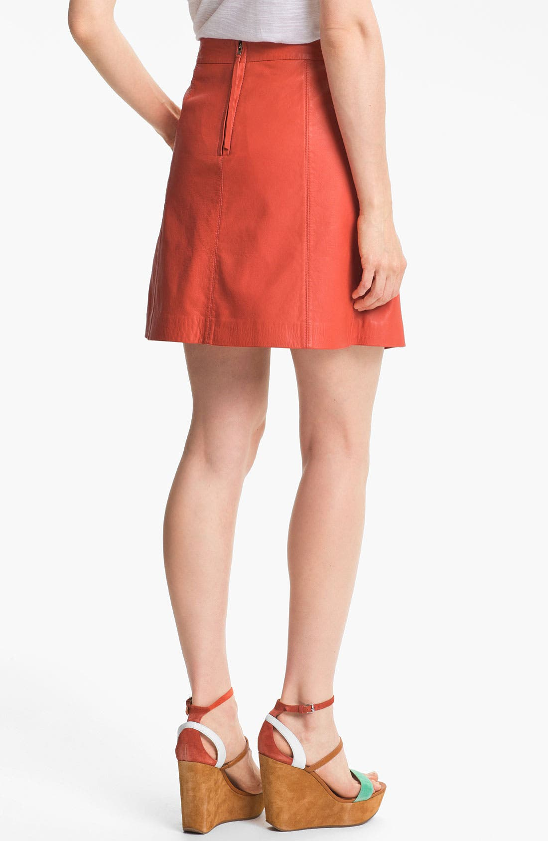 Alternate Image 2  - MARC BY MARC JACOBS 'Jett' Leather Skirt