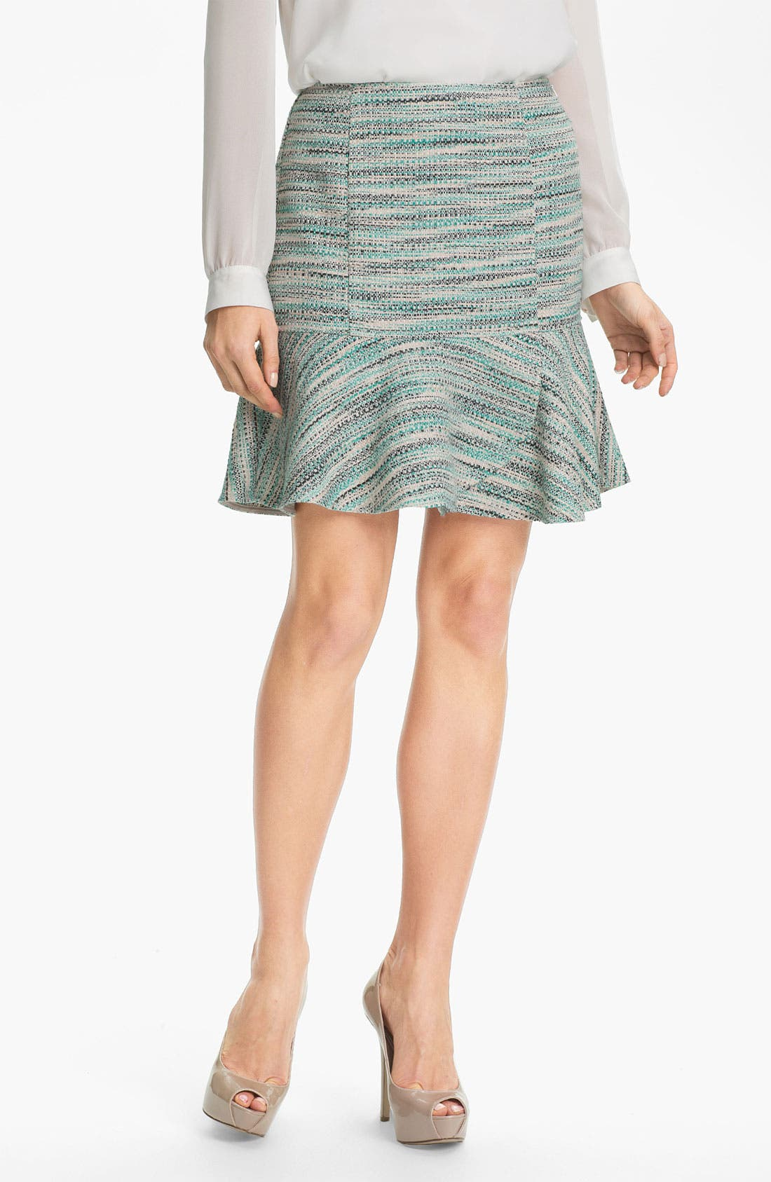 Alternate Image 1 Selected - DKNYC Peplum Hem Skirt