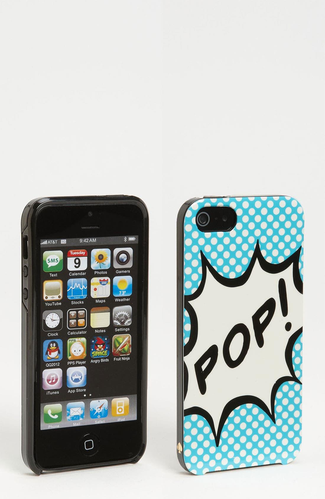 Main Image - kate spade new york 'pop!' iPhone 5 & 5S case