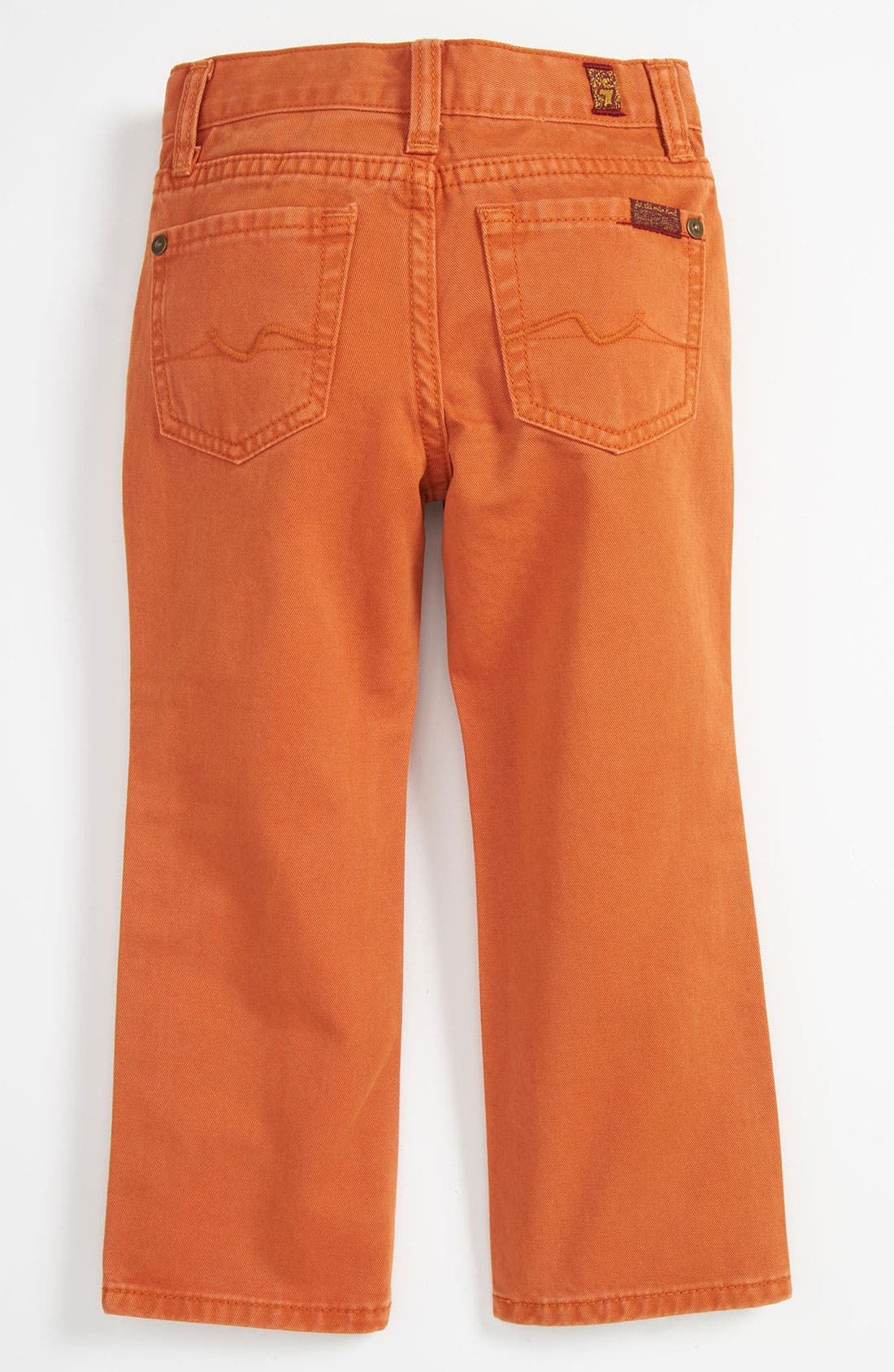Alternate Image 1 Selected - 7 For All Mankind® 'Standard' Straight Leg Jeans (Toddler)