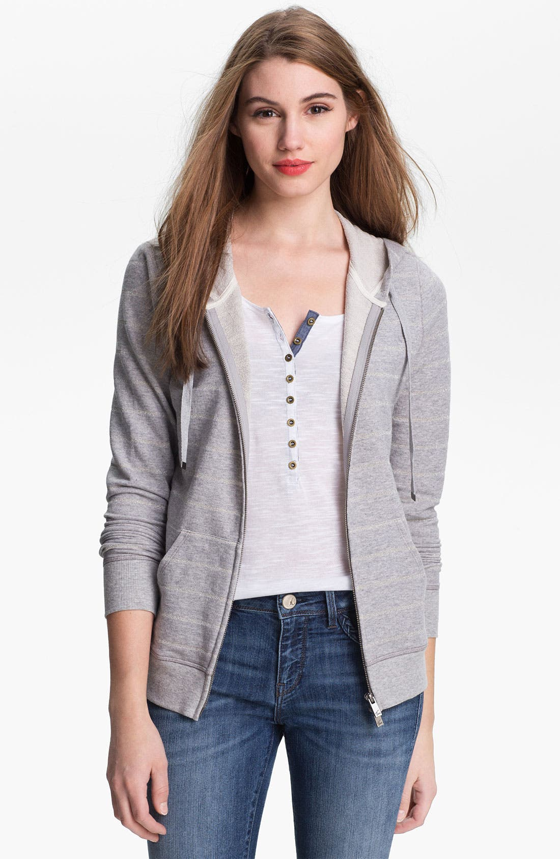 Main Image - Two by Vince Camuto French Terry Hoodie