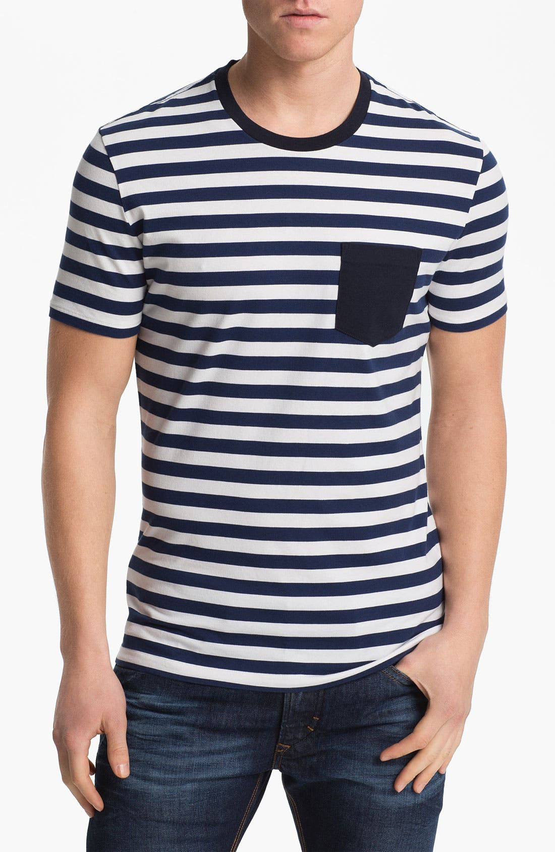 Alternate Image 1 Selected - Burberry Brit 'Kidd' Crewneck T-Shirt