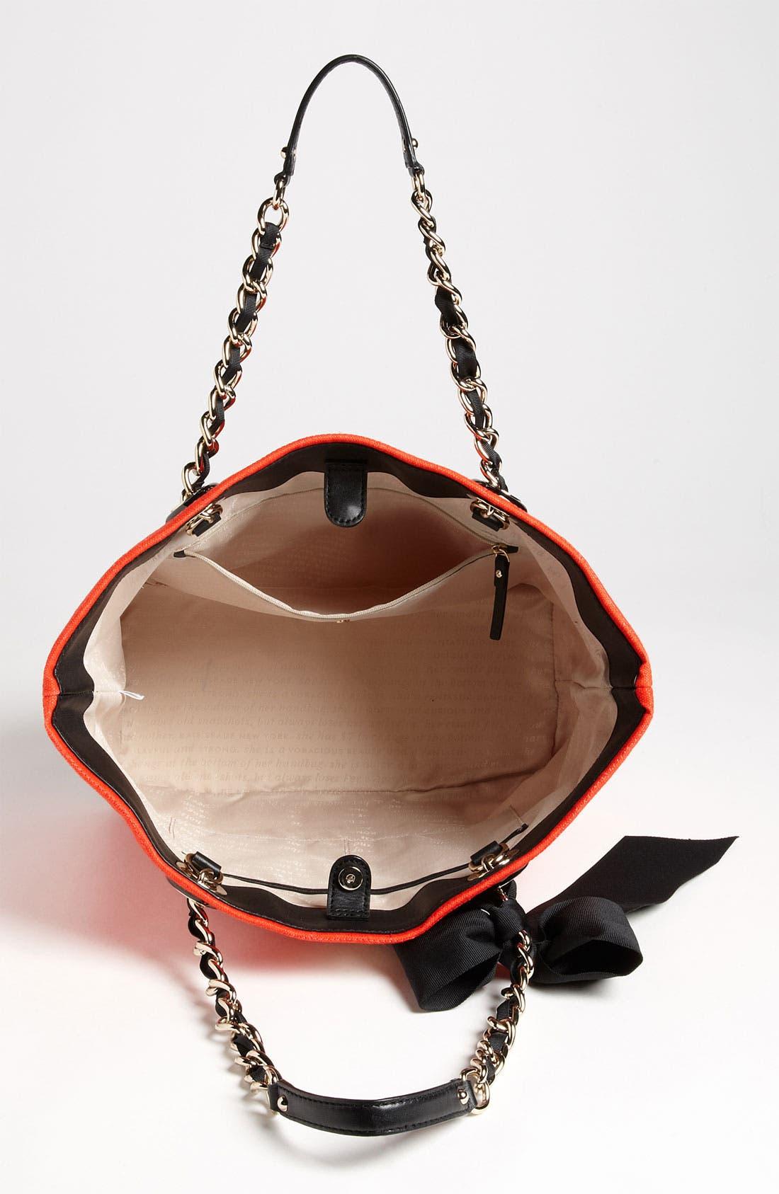 Alternate Image 3  - kate spade new york 'signature spade - small coal' shoulder bag