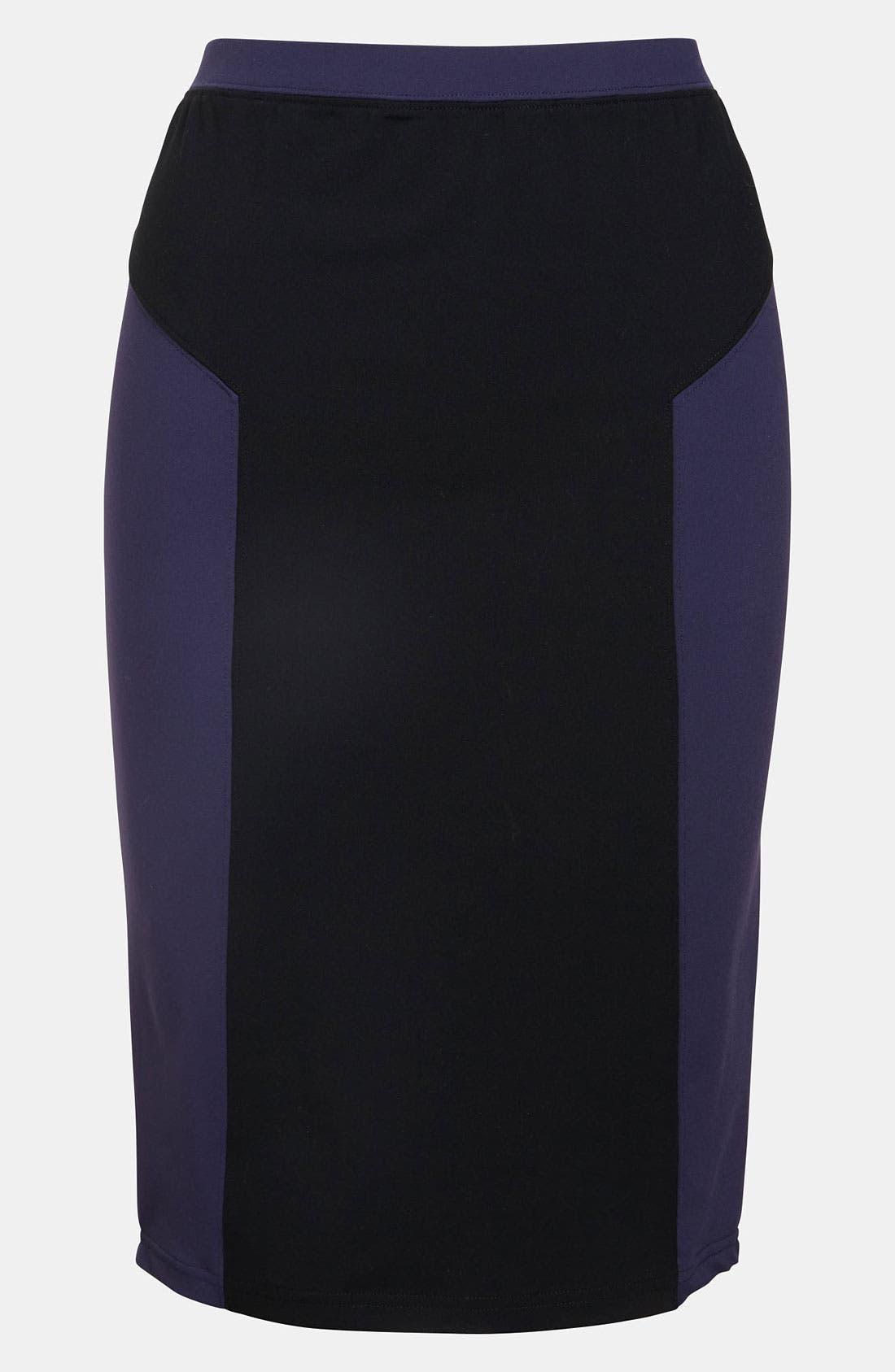 Main Image - Leith Colorblock Tube Skirt