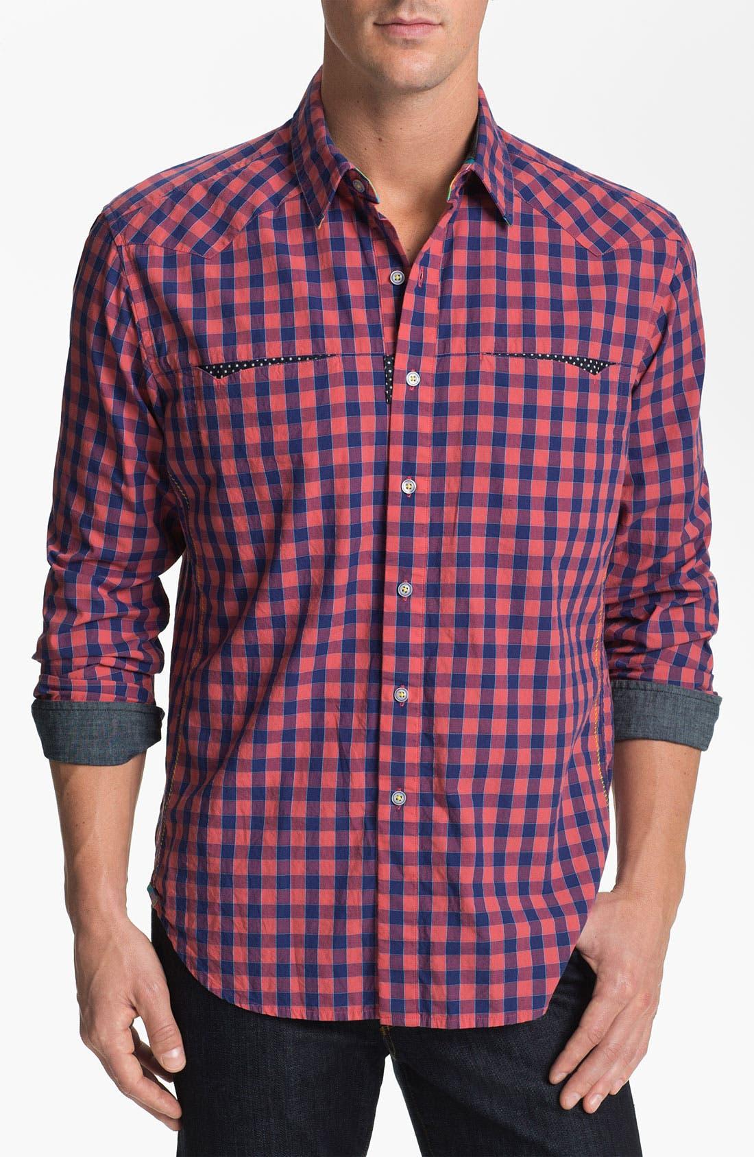 Alternate Image 1 Selected - Robert Graham 'Ellsworth' Sport Shirt