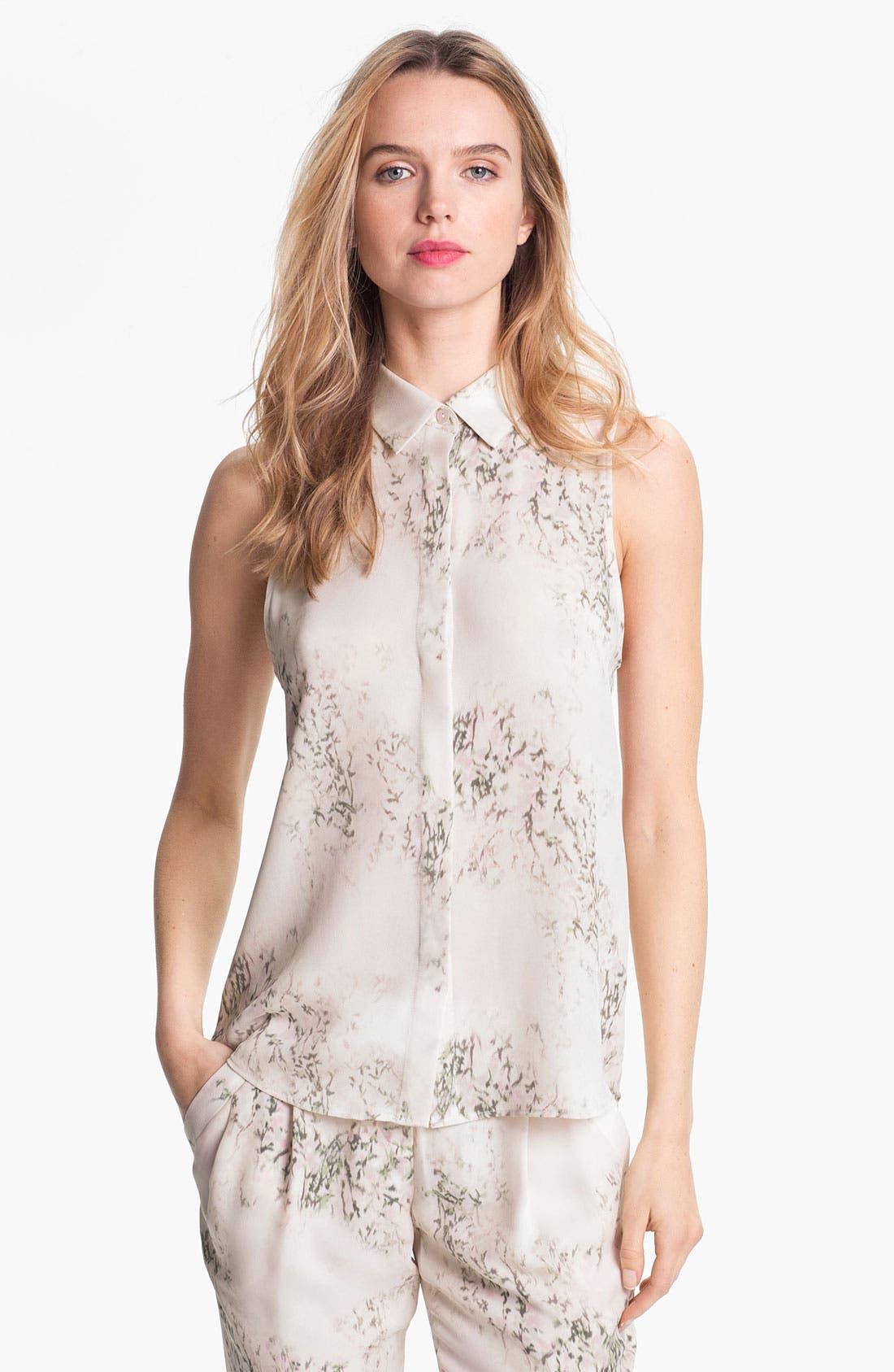 Main Image - Theory 'Earheart' Silk Shirt