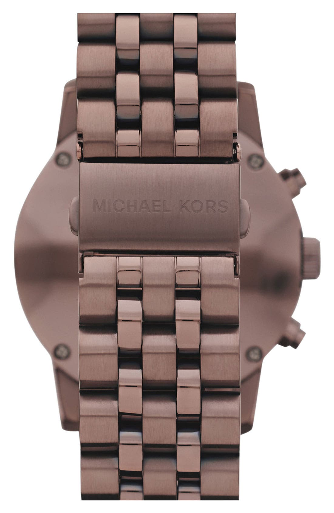 Alternate Image 2  - Michael Kors 'Scout' Knurled Topring Watch, 43mm
