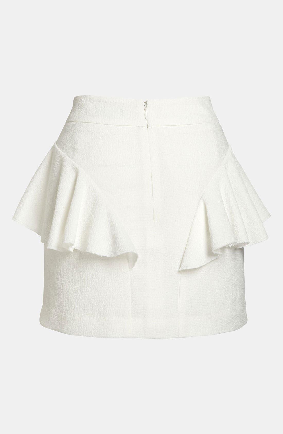 Alternate Image 2  - Tildon Side Ruffle Skirt