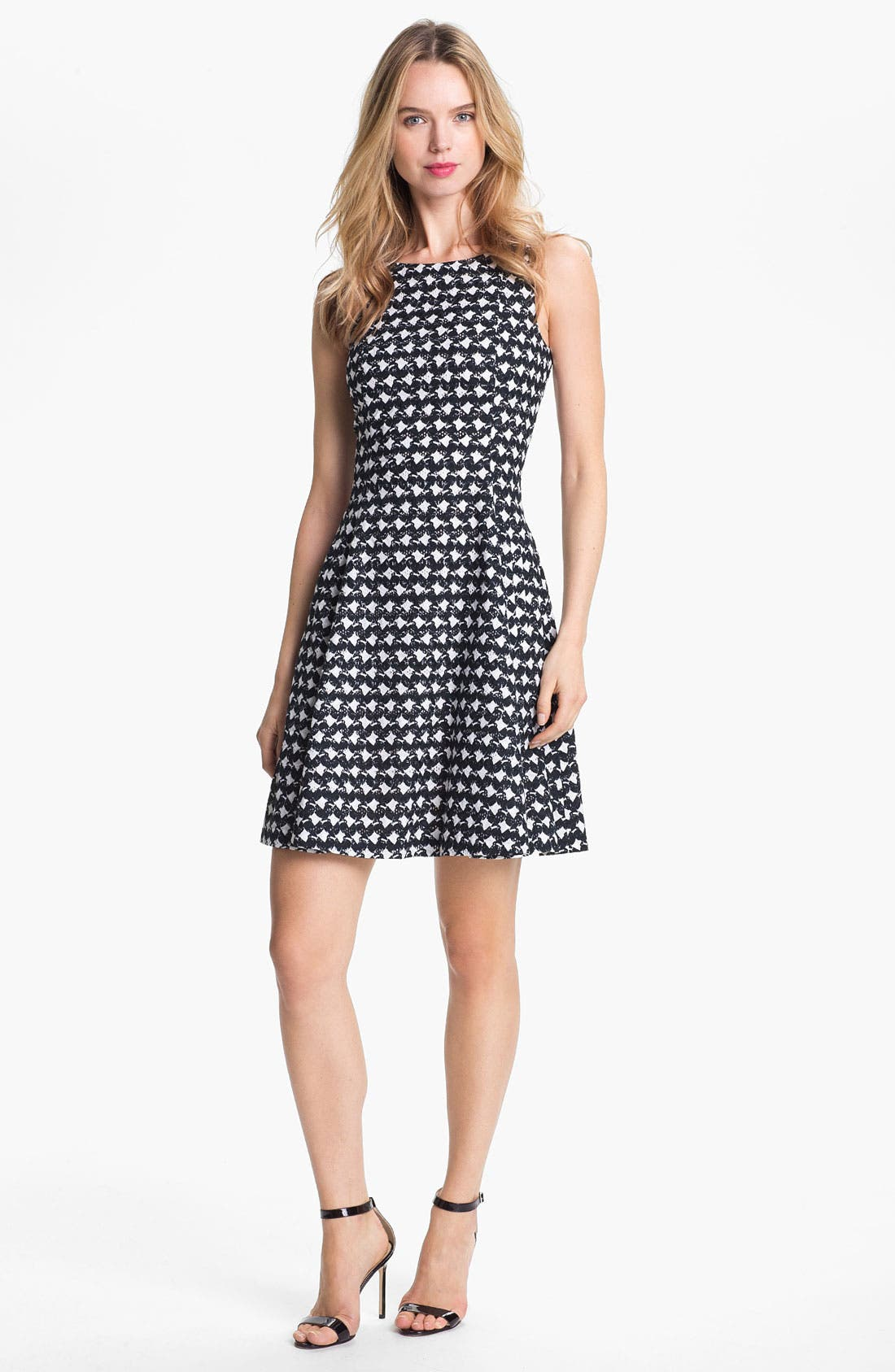 Alternate Image 1 Selected - Theory 'Elexis' Cotton Fit & Flare Dress