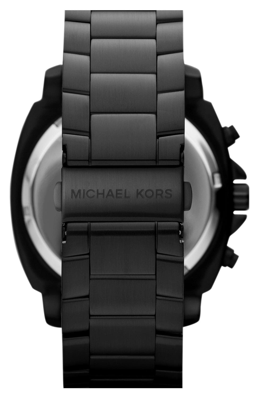 Alternate Image 3  - Michael Kors 'Cameron' Chronograph Bracelet Watch, 47mm
