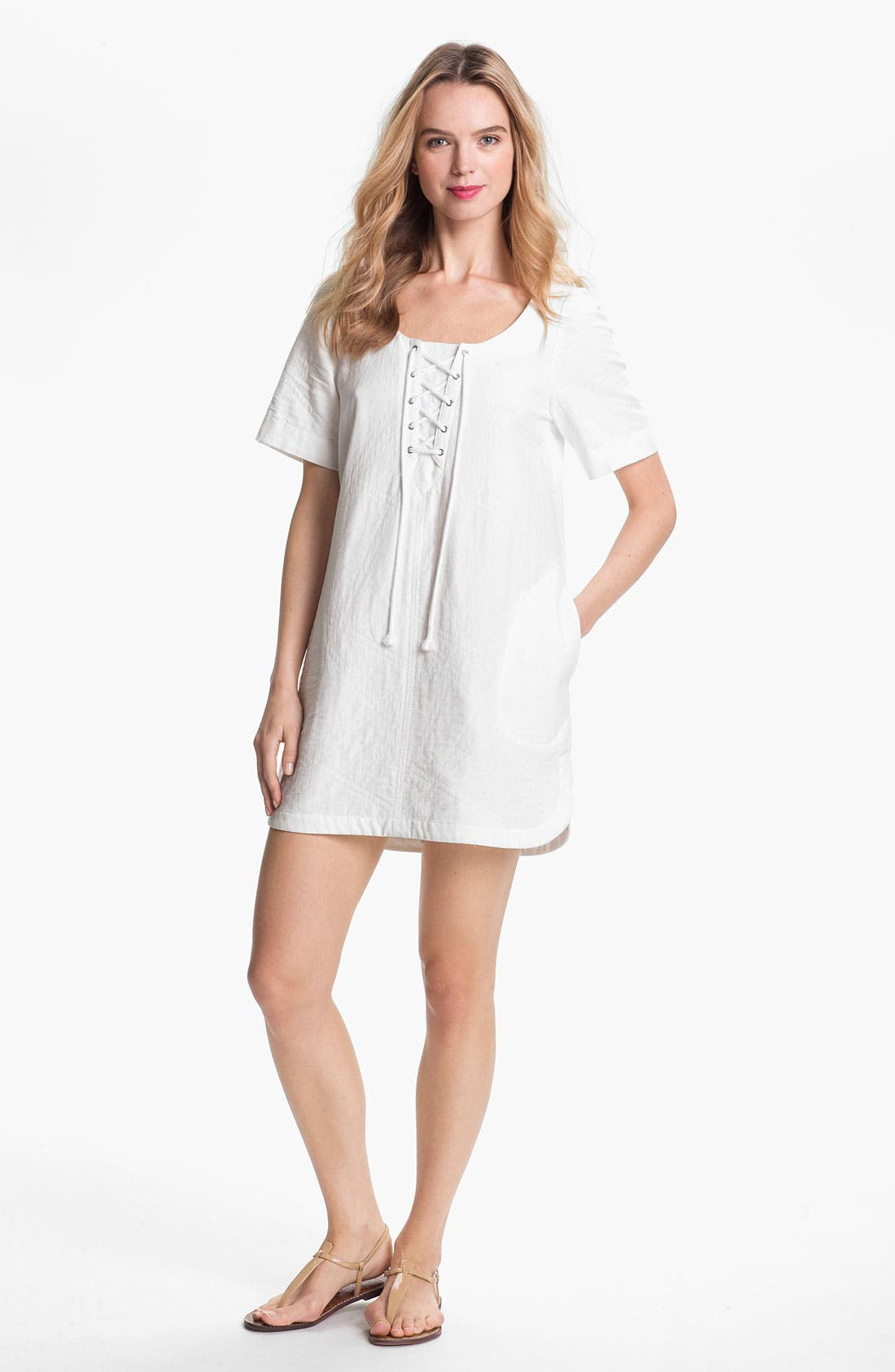 Alternate Image 1 Selected - Rebecca Minkoff 'Seattle' Cotton Caftan