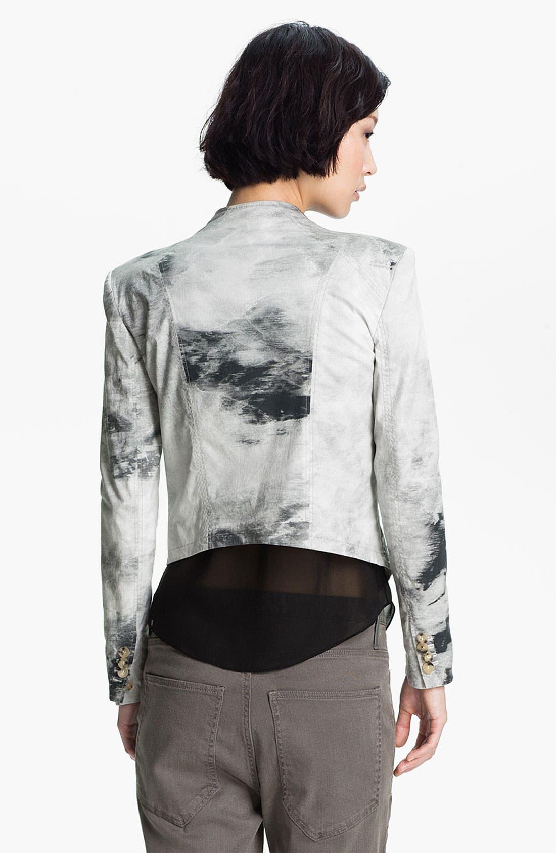 Alternate Image 4  - HELMUT Helmut Lang Smudge Print Poplin Jacket