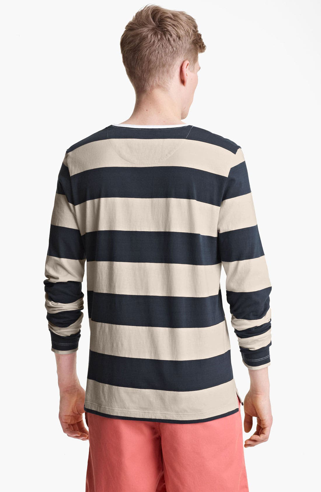 Alternate Image 2  - Shipley & Halmos 'Staniel' Stripe Long Sleeve T-Shirt