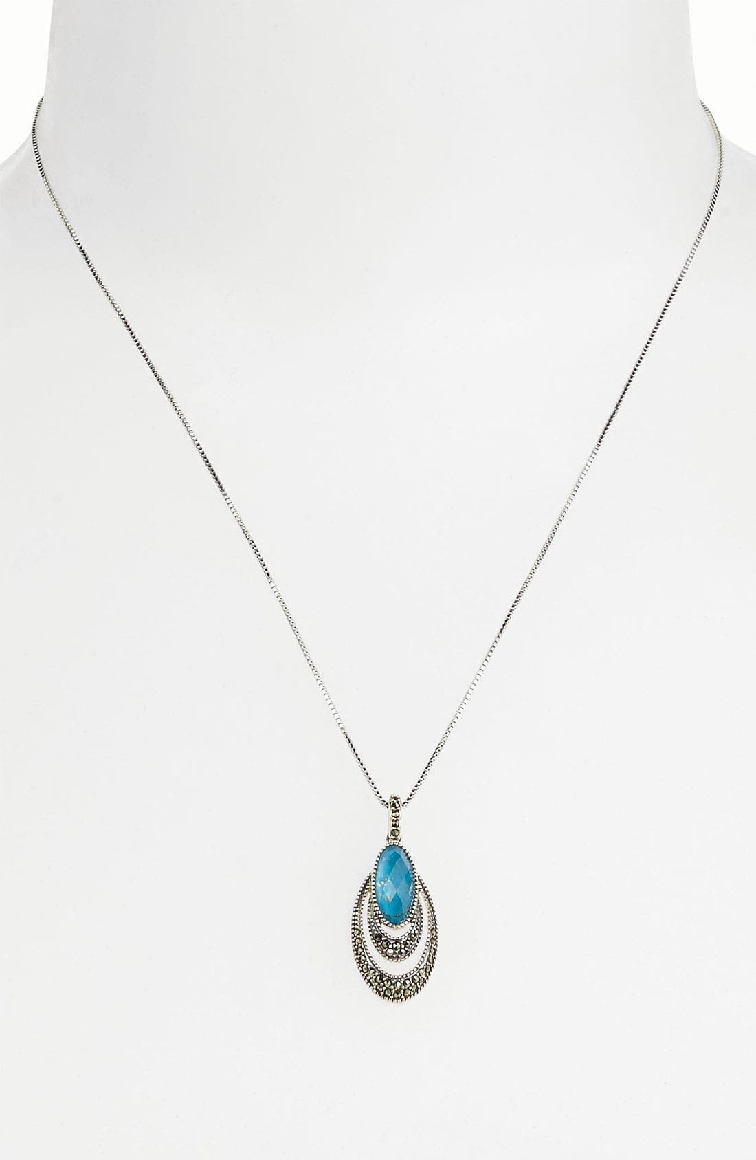 Alternate Image 1 Selected - Judith Jack Pendant Necklace