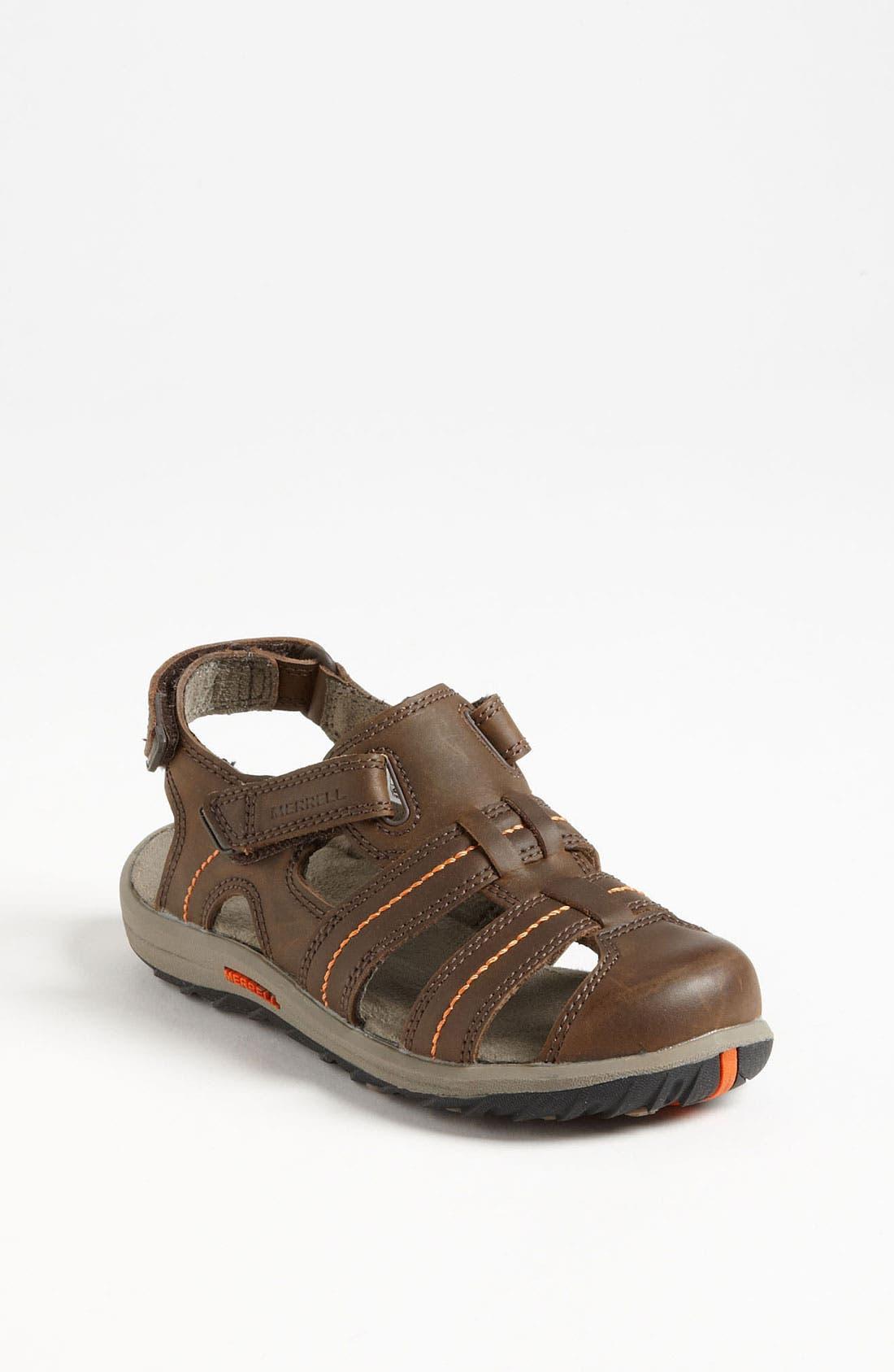Alternate Image 1 Selected - Merrell 'Sidekick Deck' Sandal (Toddler, Little Kid & Big Kid)