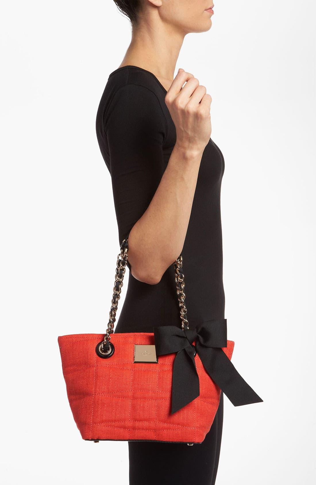 Alternate Image 2  - kate spade new york 'signature spade - mini coal' shoulder bag