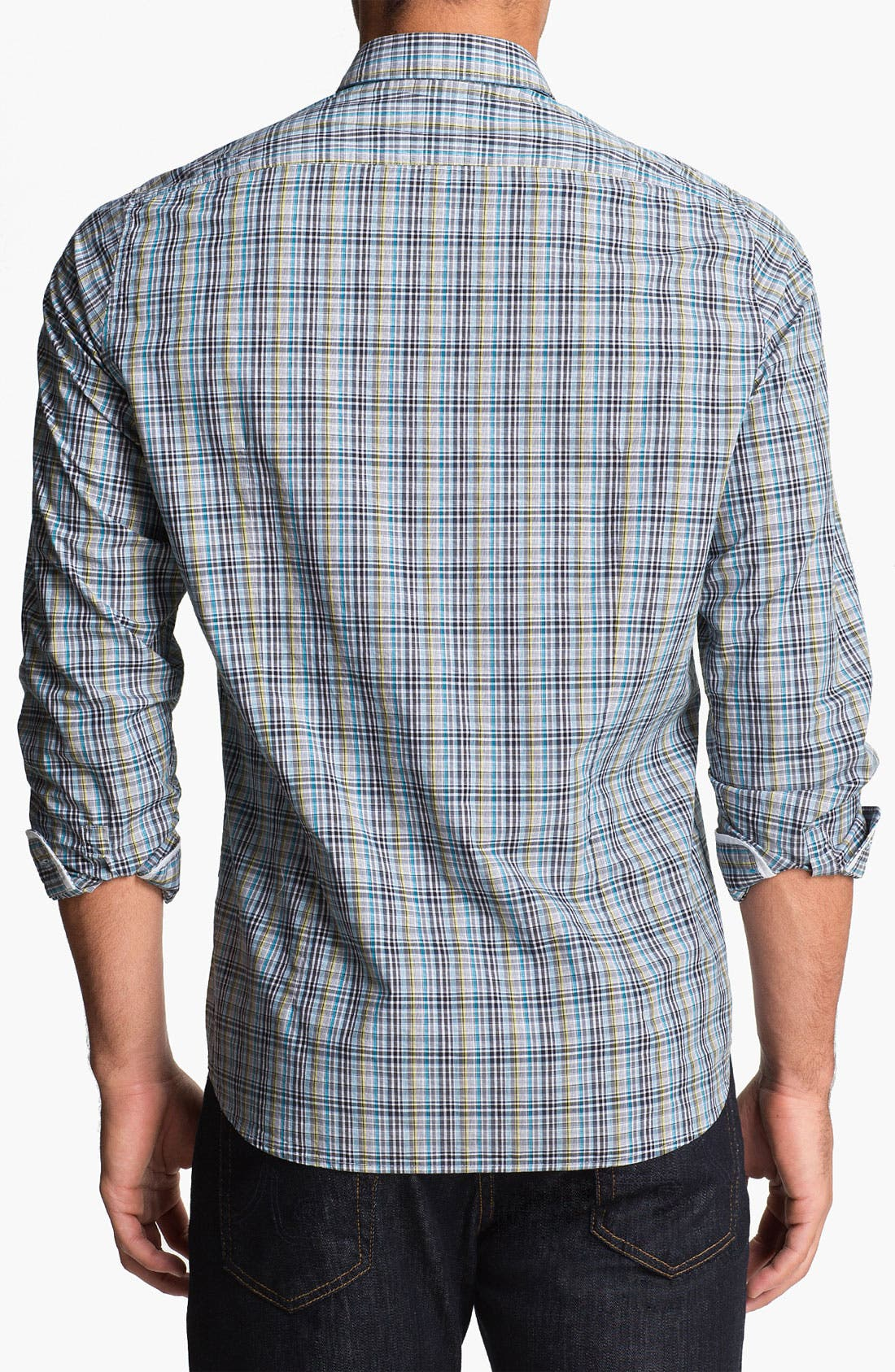 Alternate Image 2  - BOSS Black 'Lorenzo' Regular Fit Sport Shirt
