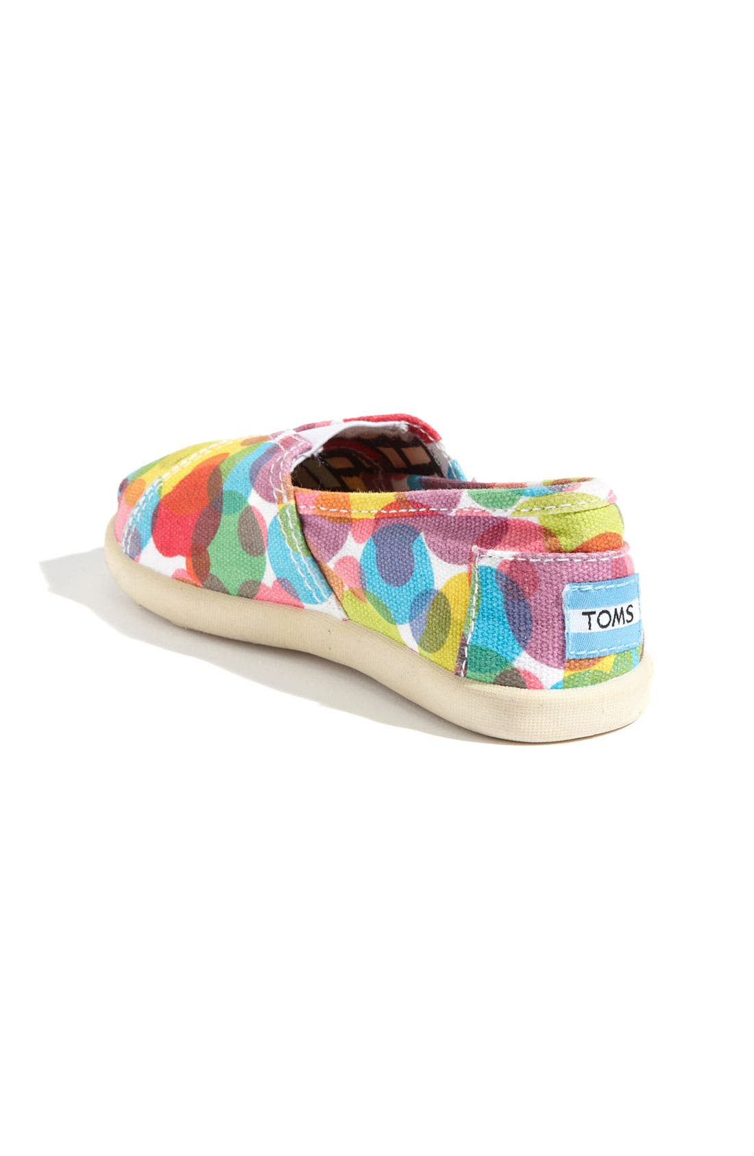 Alternate Image 2  - TOMS 'Classic Tiny - Clea' Slip-On (Baby, Walker & Toddler)