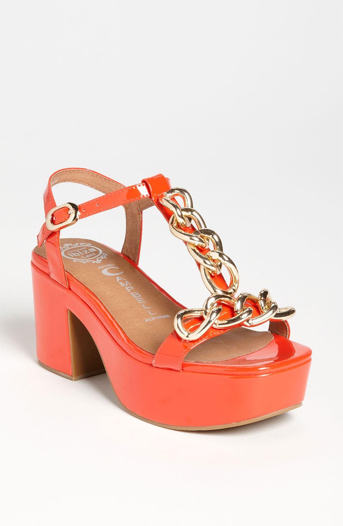 Alternate Image 1 Selected - Jeffrey Campbell 'Yasmine' Sandal
