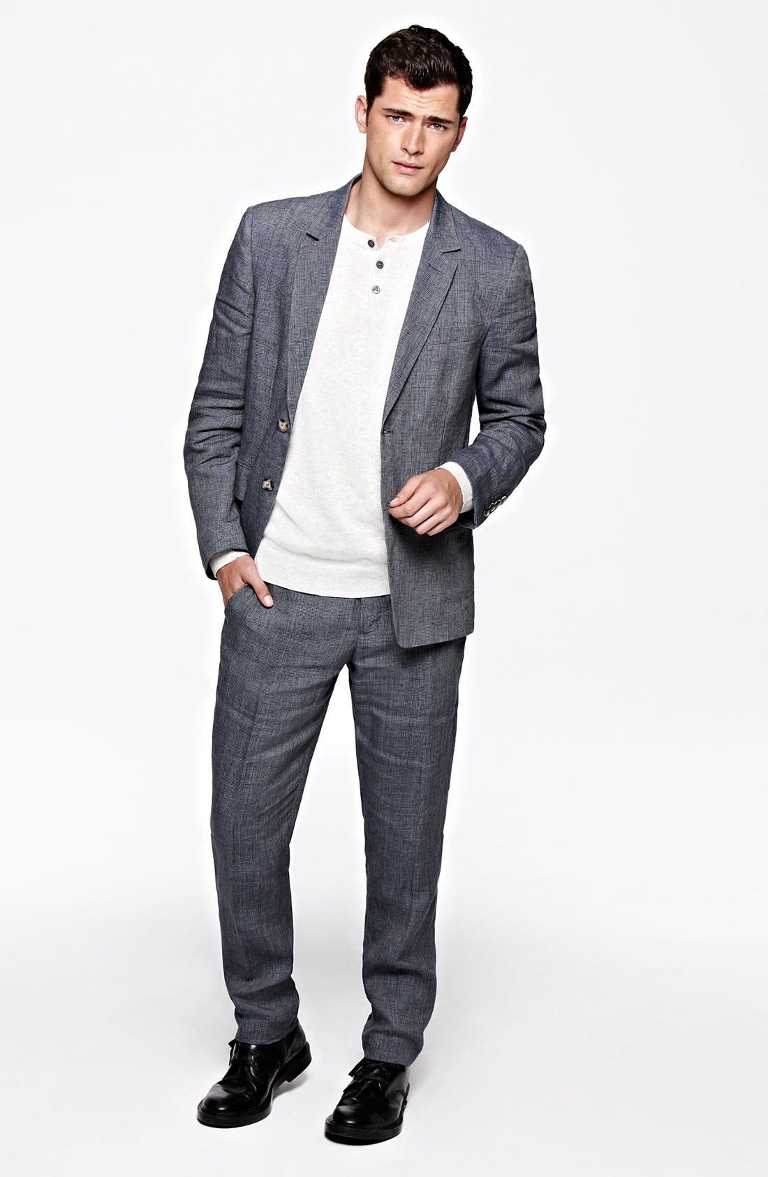 Alternate Image 4  - Vince Linen Sportcoat