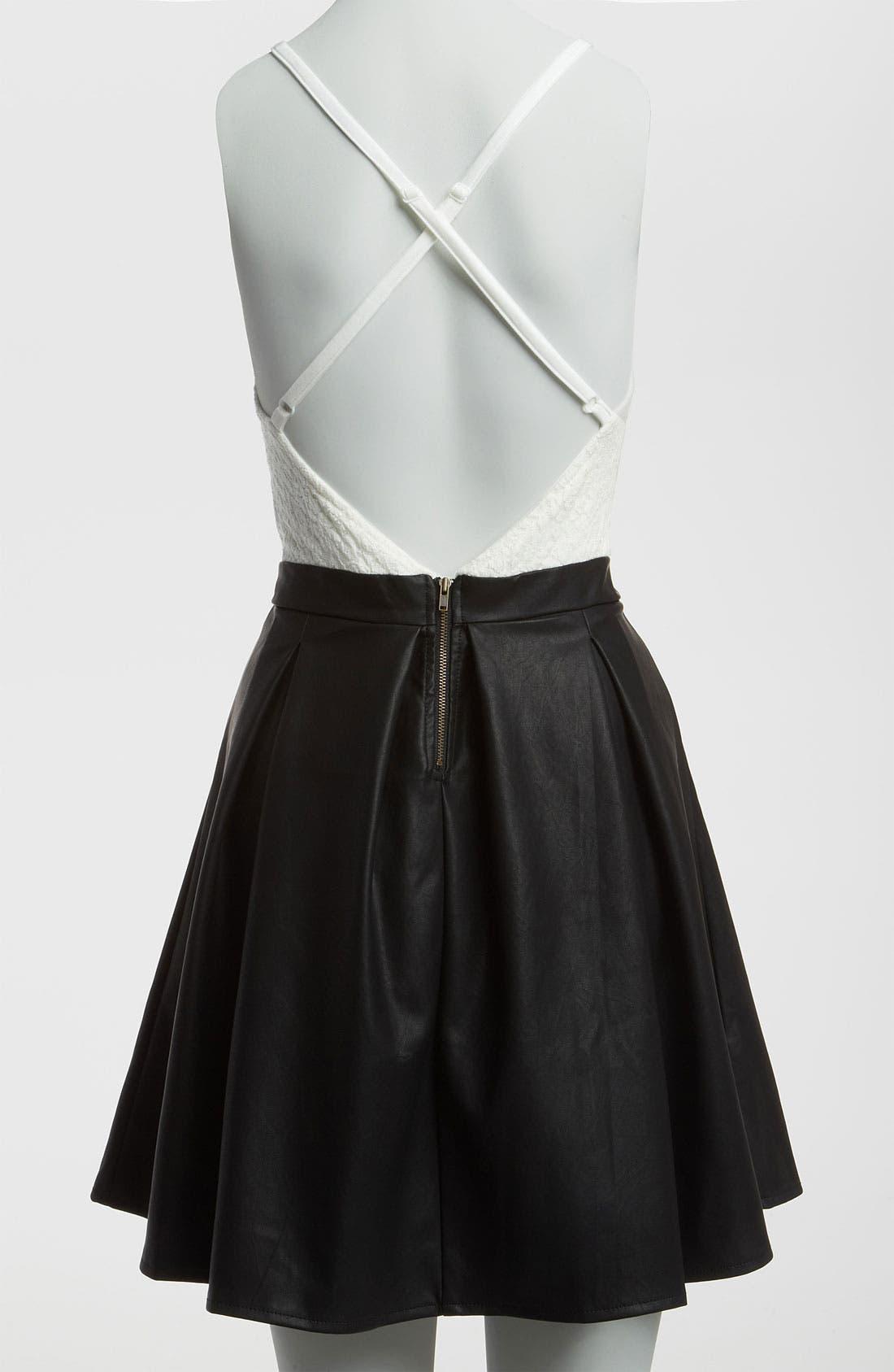 Alternate Image 3  - MINKPINK 'Imogen' Combo Dress