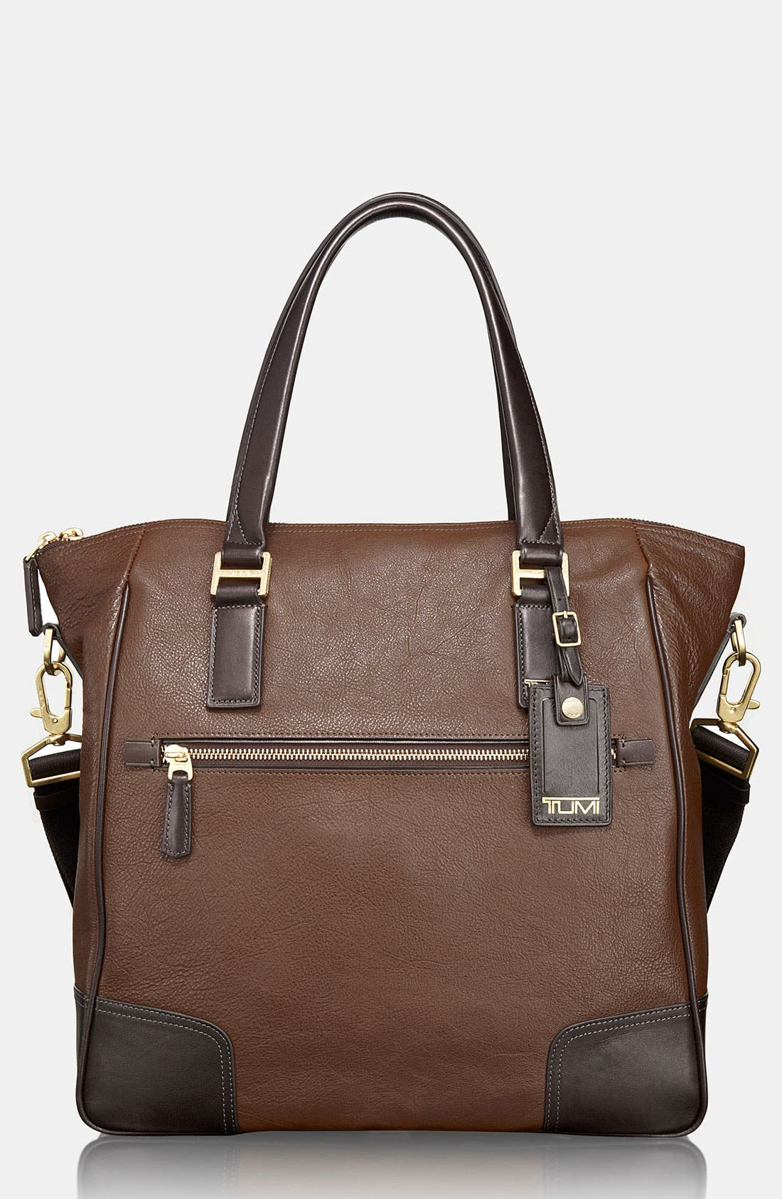 Alternate Image 1 Selected - Tumi 'Beacon Hill - Phillips' Leather Tote