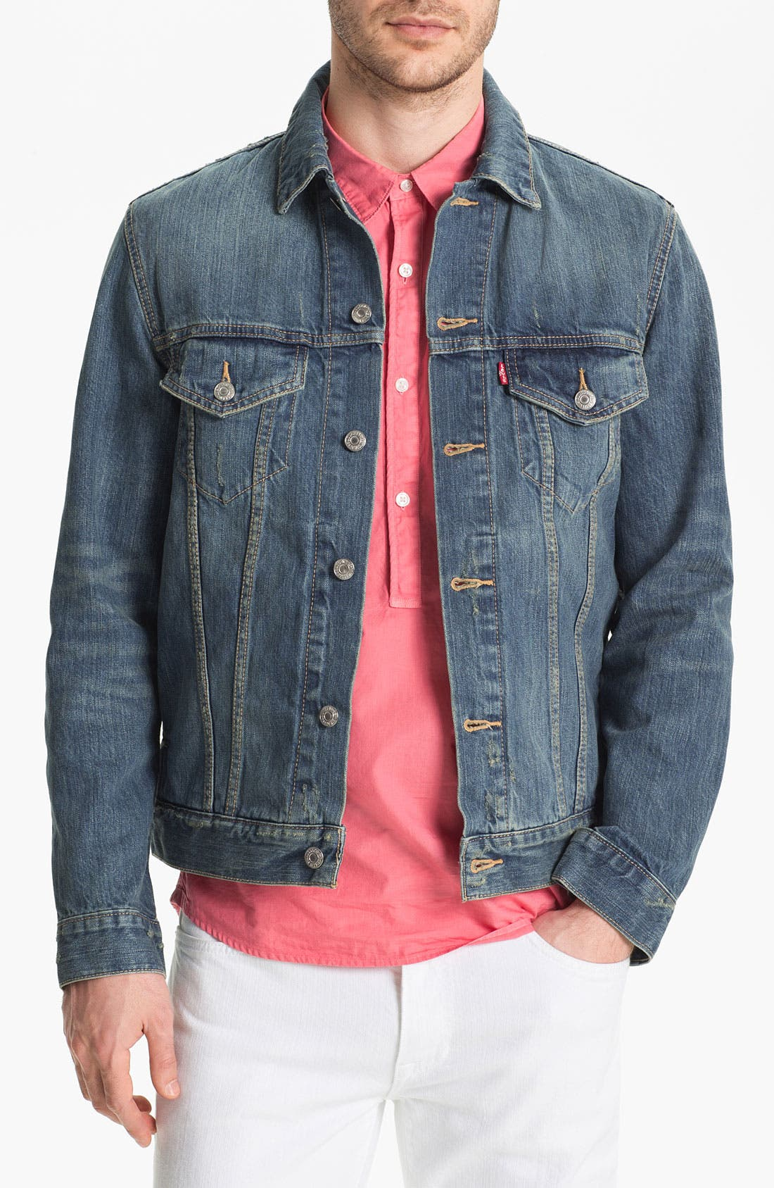 Alternate Image 1 Selected - Levi's® 'Trucker' Denim Jacket