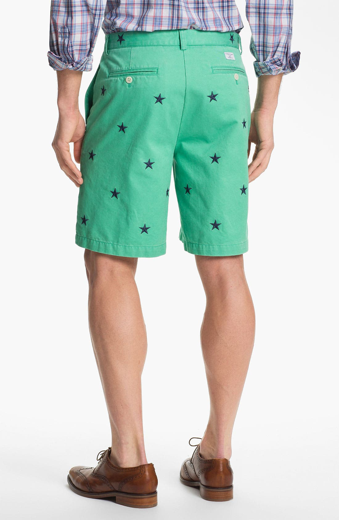 Alternate Image 4  - Vineyard Vines Regular Fit Embroidered Shorts