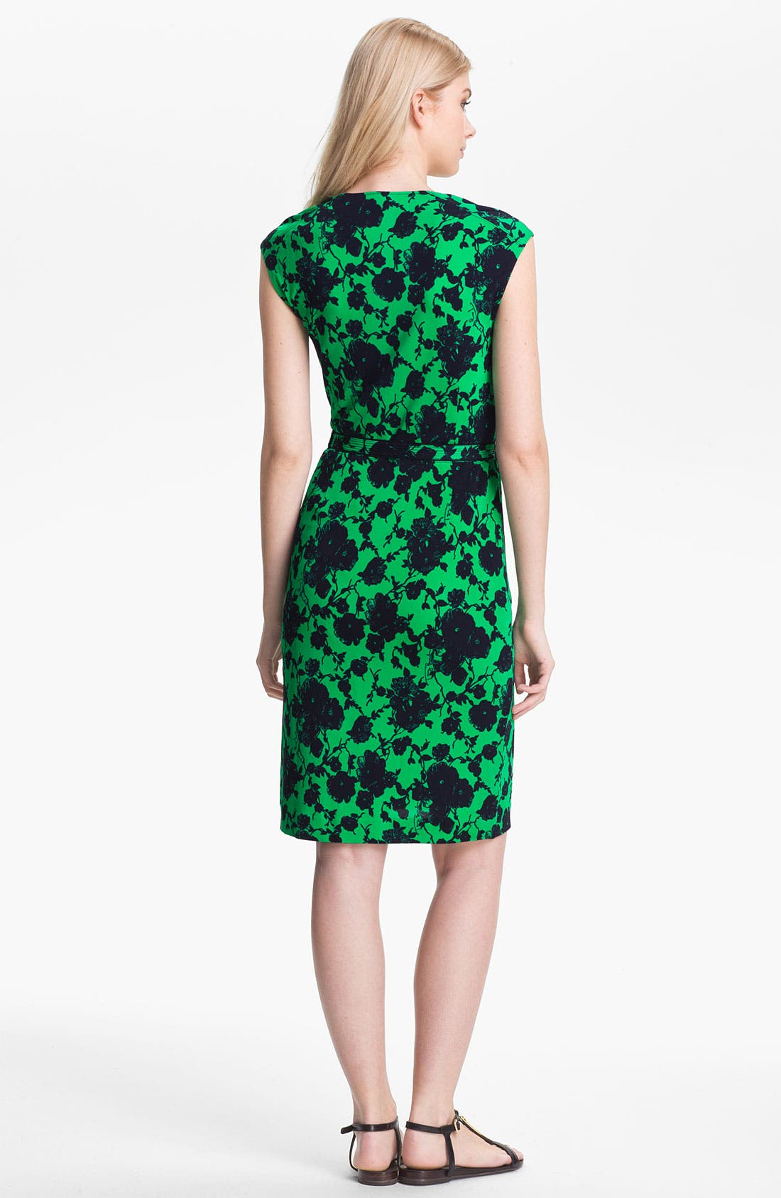 Alternate Image 2  - Tory Burch 'Willow' Belted Sheath Dress