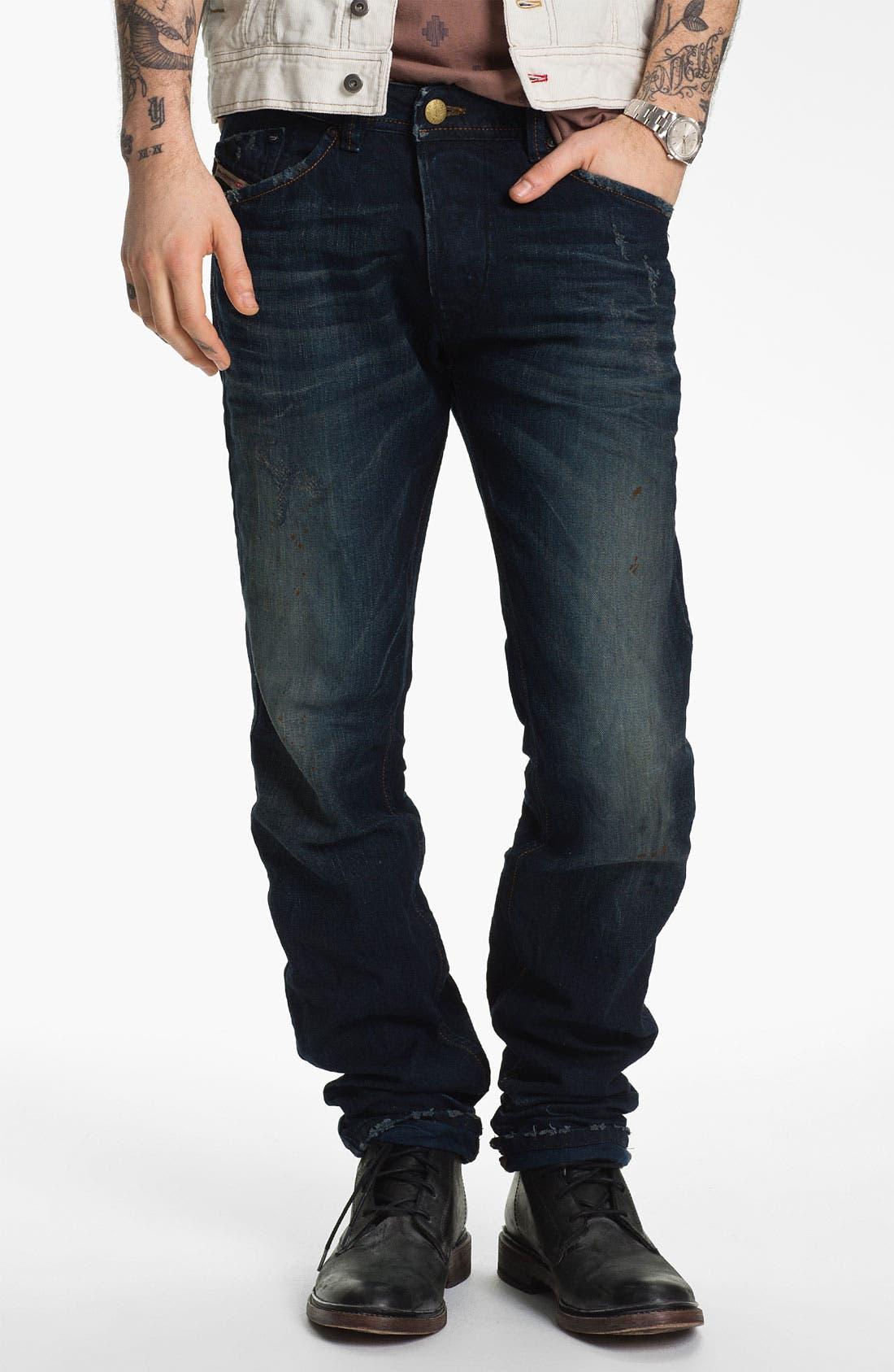 Alternate Image 2  - DIESEL® 'Darron' Slim Tapered Leg Jeans (0809V)
