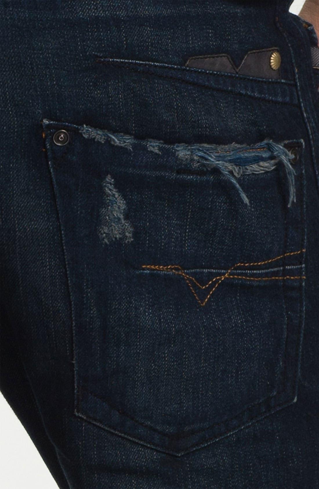 Alternate Image 4  - DIESEL® 'Darron' Slim Tapered Leg Jeans (0809V)