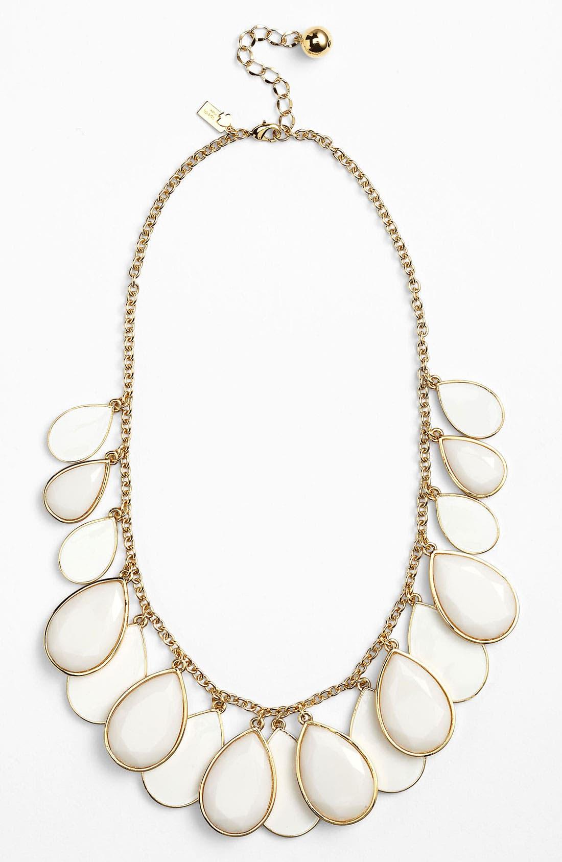 Main Image - kate spade new york 'petal pusher' bib necklace