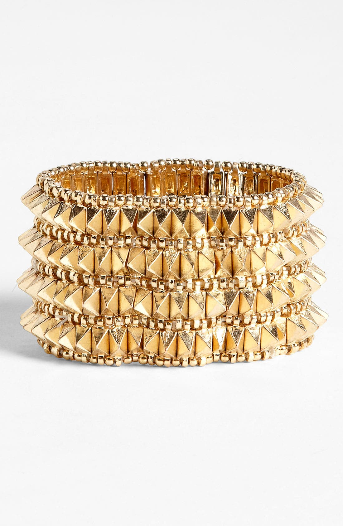 Alternate Image 1 Selected - BP. Pyramid Stud Stretch Cuff