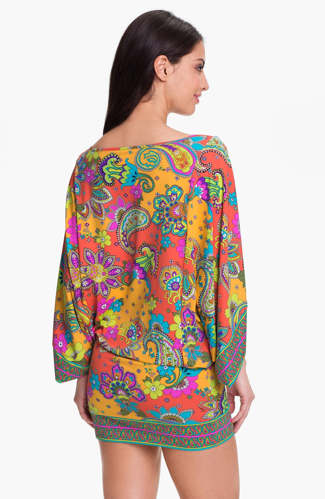 Alternate Image 2  - Trina Turk 'Summer of Love' Tunic Cover-Up