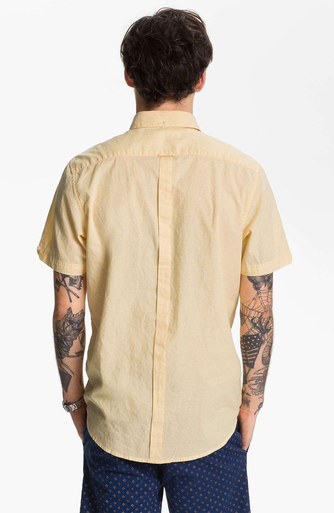 Alternate Image 2  - Ben Sherman Chambray Oxford Shirt