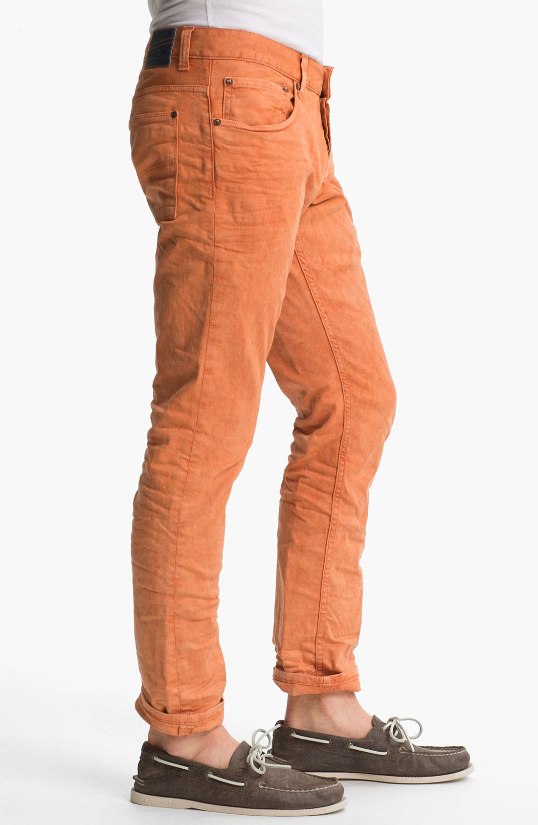 Alternate Image 3  - Gilded Age 'Morrison' Slim Fit Jeans (Apricot)