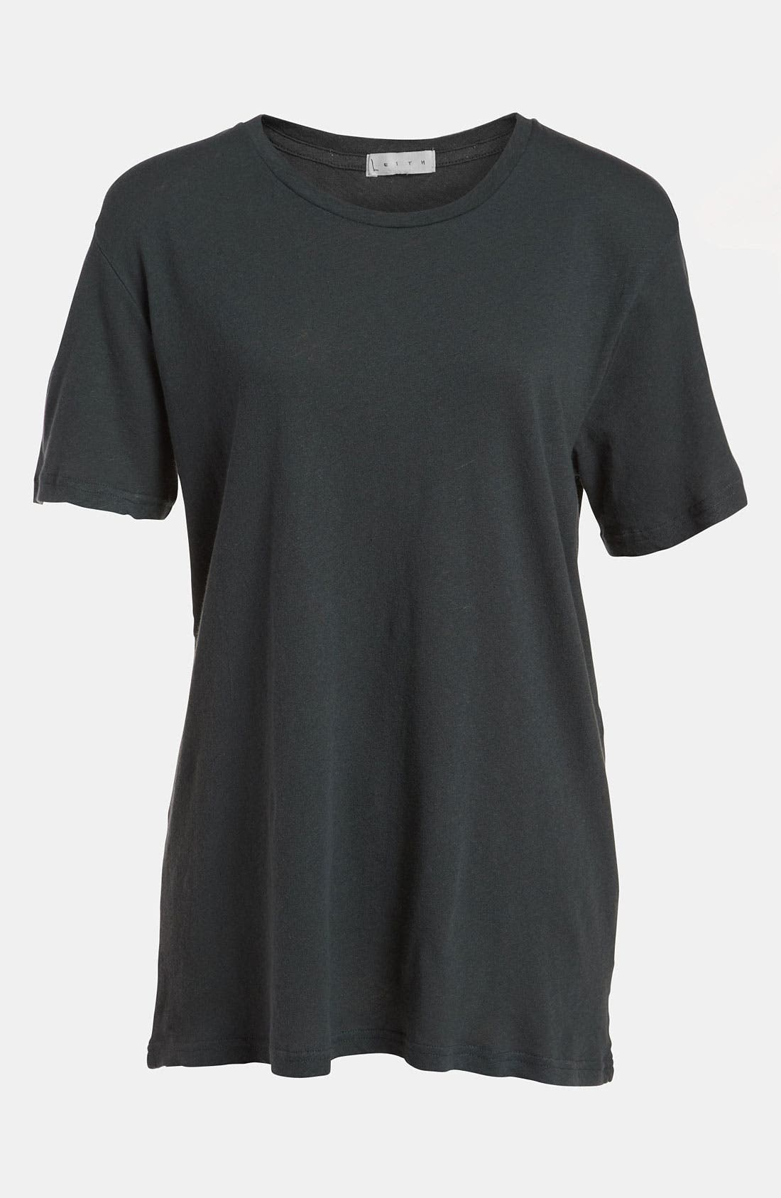 Main Image - Leith Relaxed Crewneck Tee
