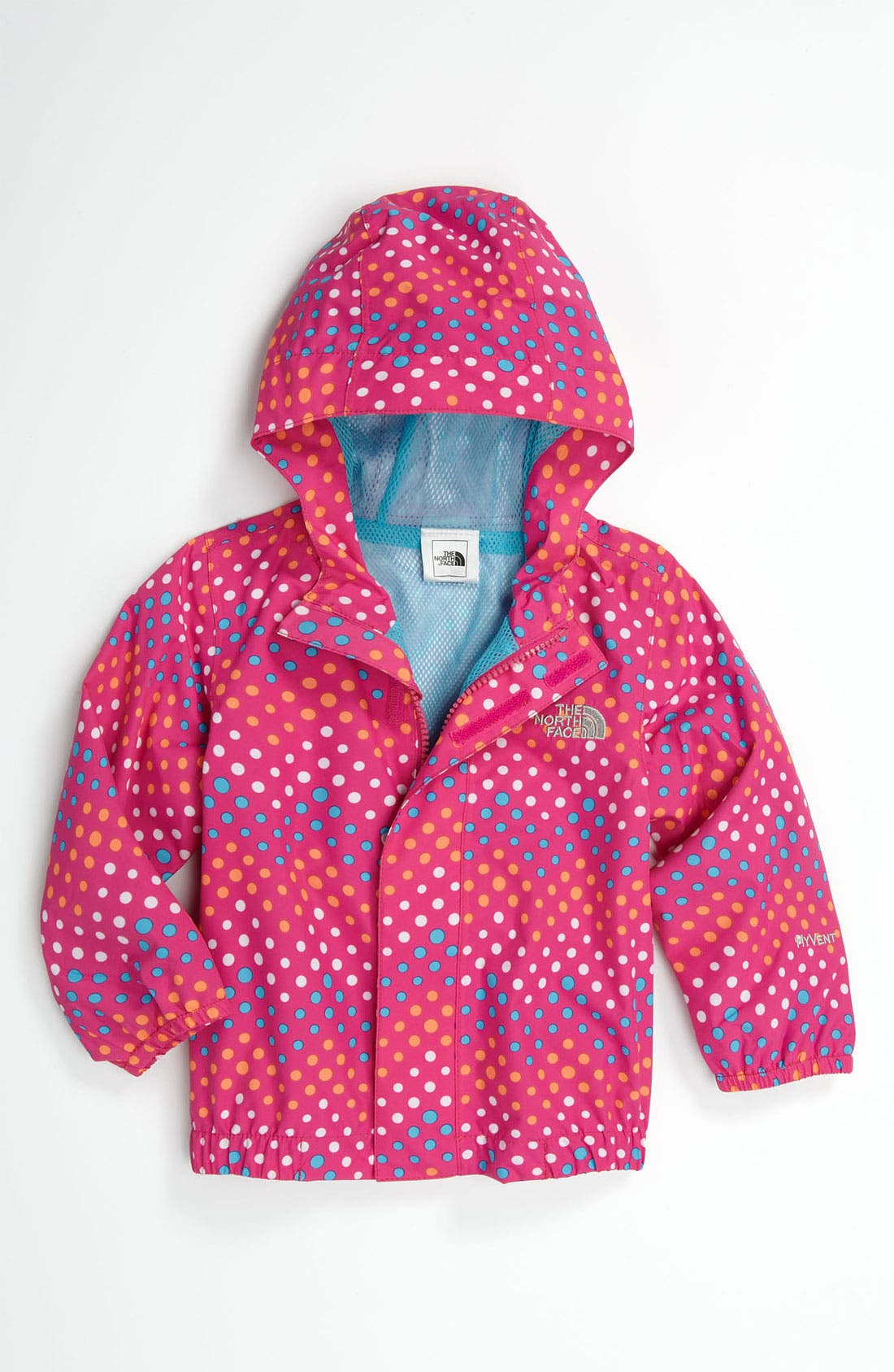 Alternate Image 1 Selected - The North Face 'Dottie - Tailout' Rain Jacket (Baby)