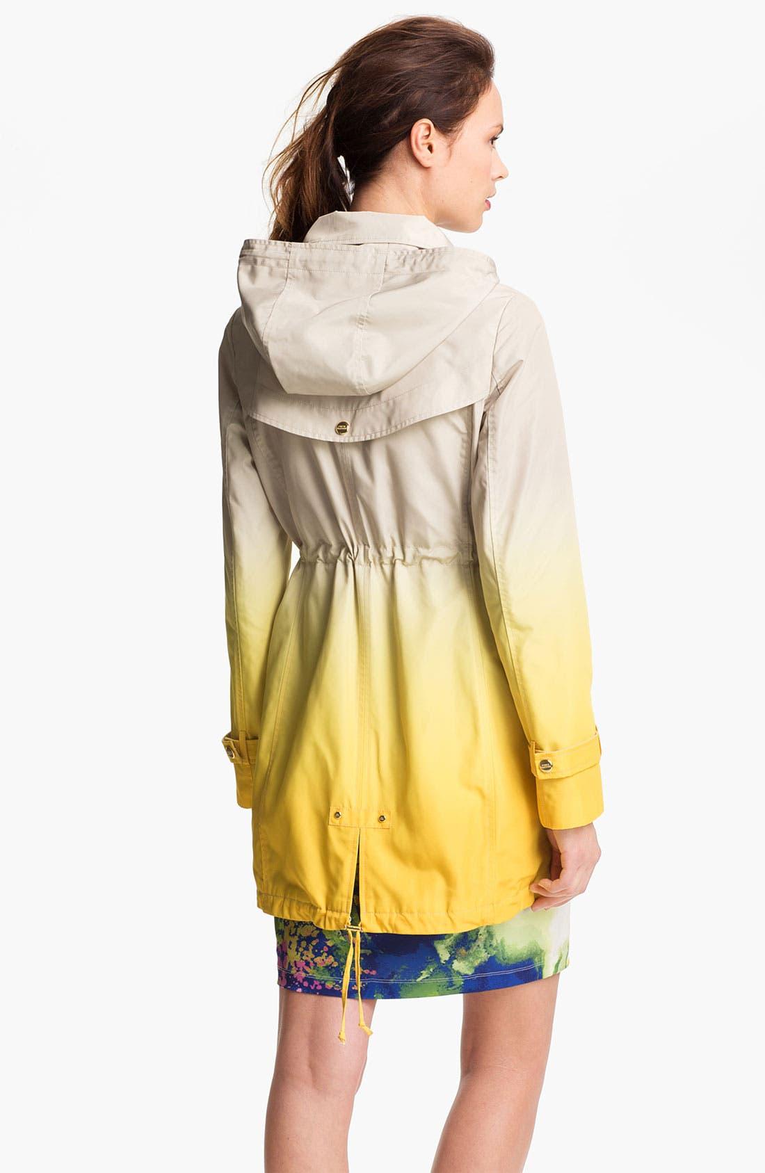 Alternate Image 3  - Steve Madden Ombré Coat with Detachable Hood